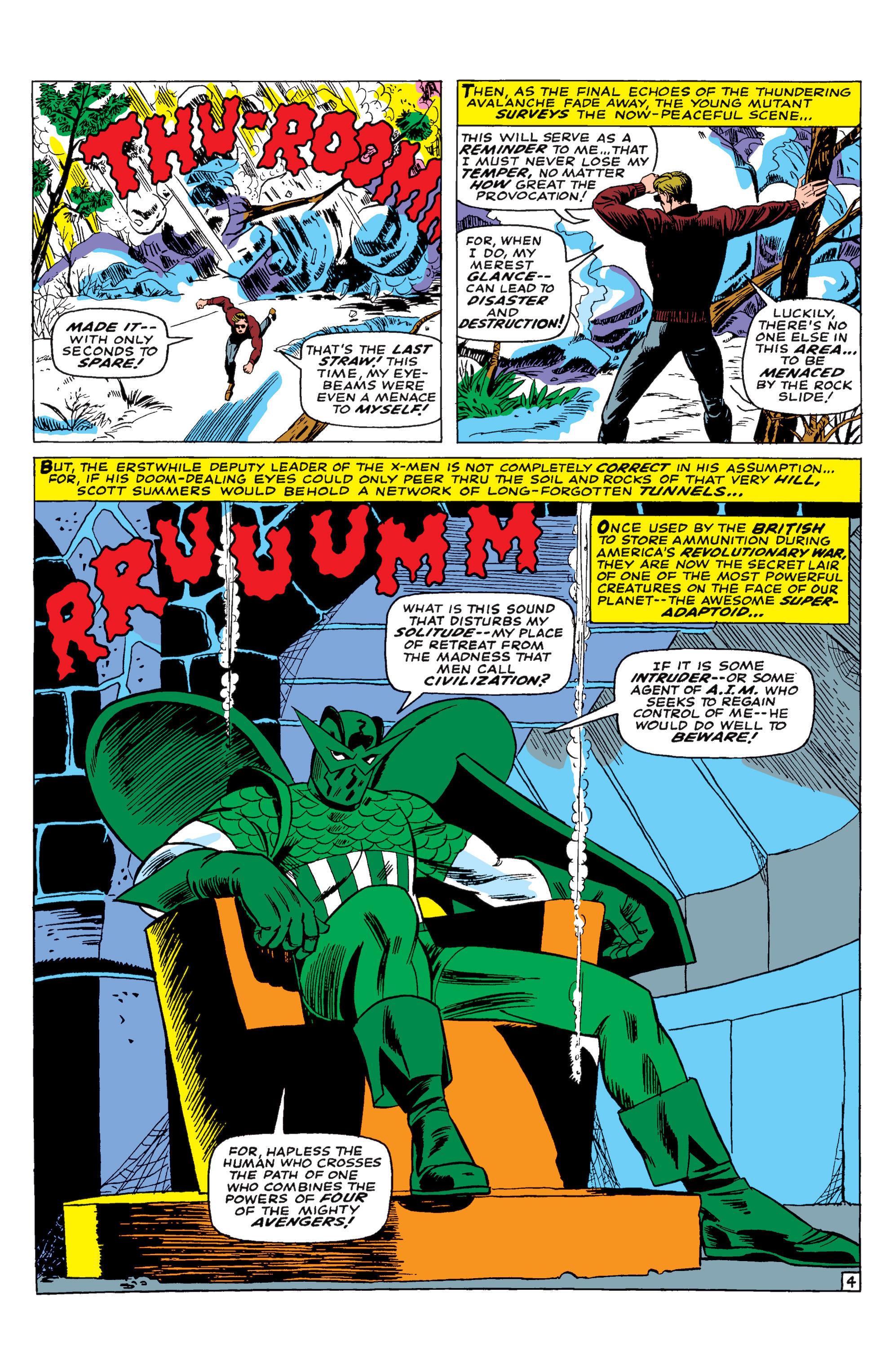 Read online Uncanny X-Men (1963) comic -  Issue #29 - 5