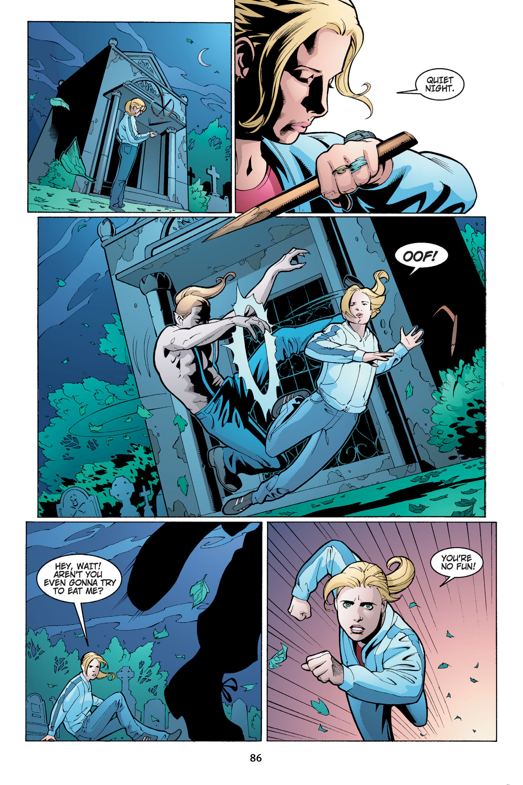 Read online Buffy the Vampire Slayer: Omnibus comic -  Issue # TPB 4 - 87