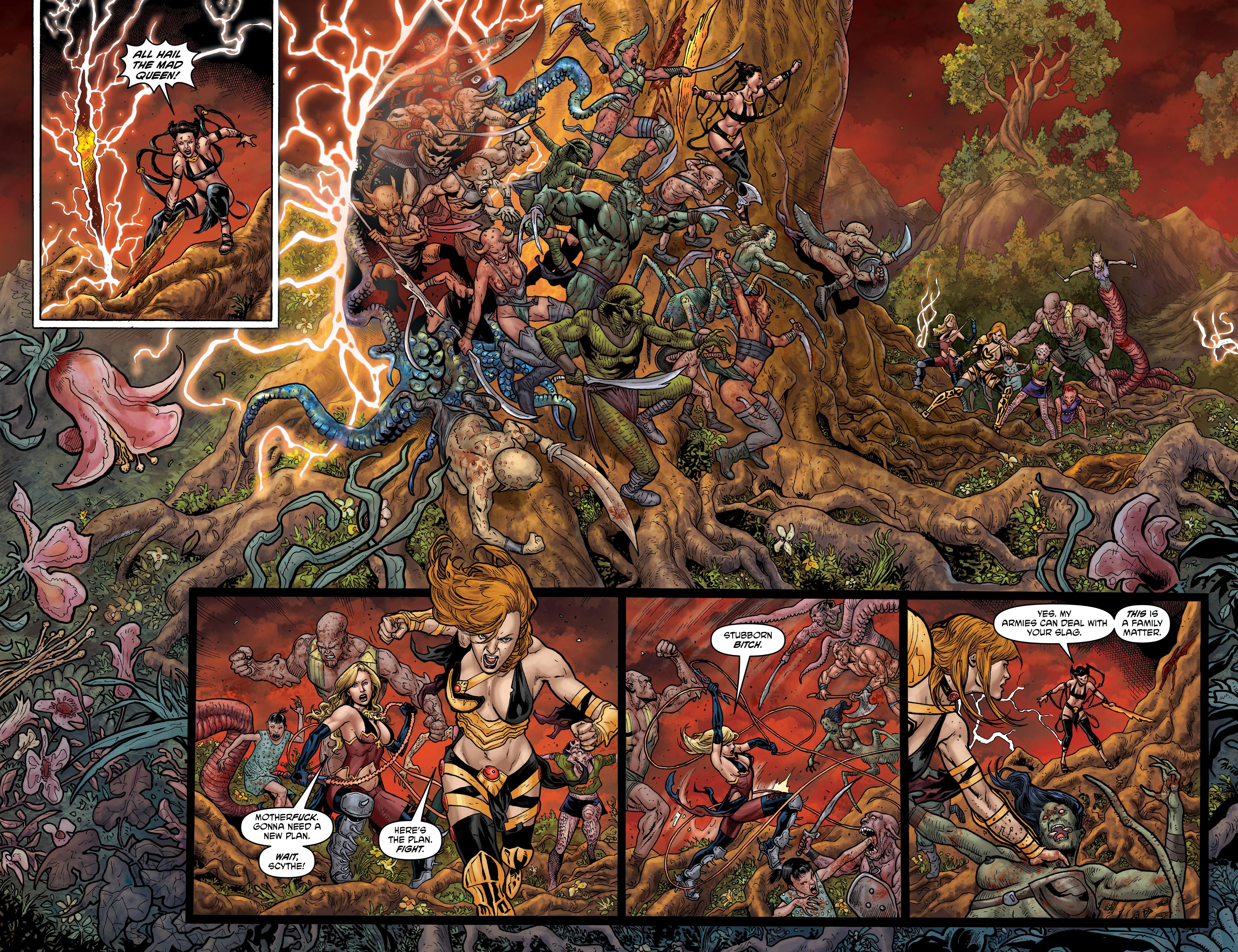 Read online Hellina: Scythe comic -  Issue #4 - 8