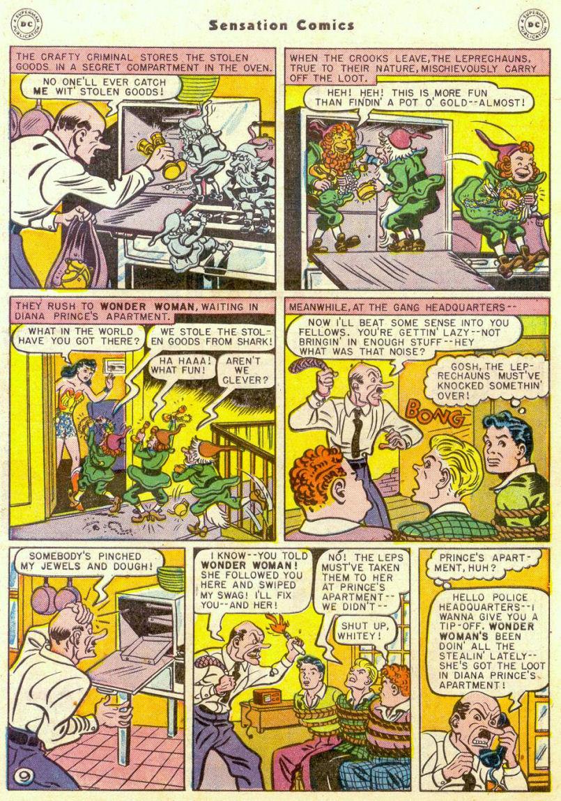 Read online Sensation (Mystery) Comics comic -  Issue #75 - 10