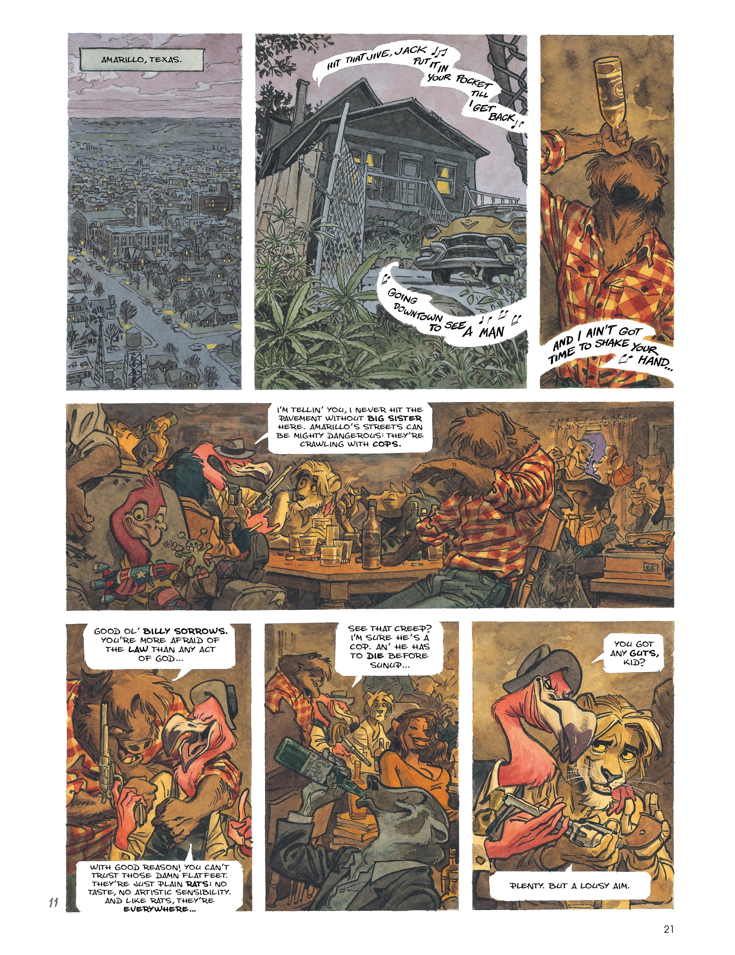 Read online Blacksad: Amarillo comic -  Issue # Full - 20