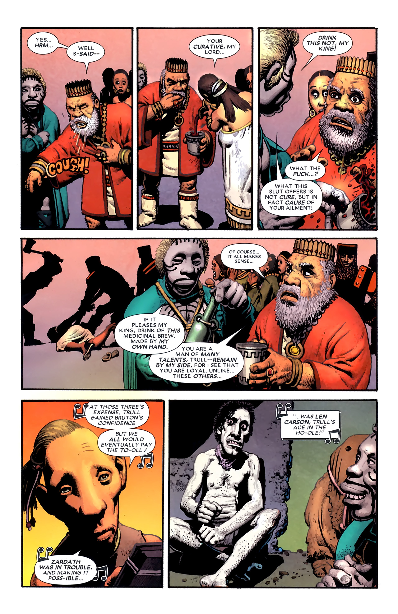 Read online Starr the Slayer comic -  Issue #3 - 5