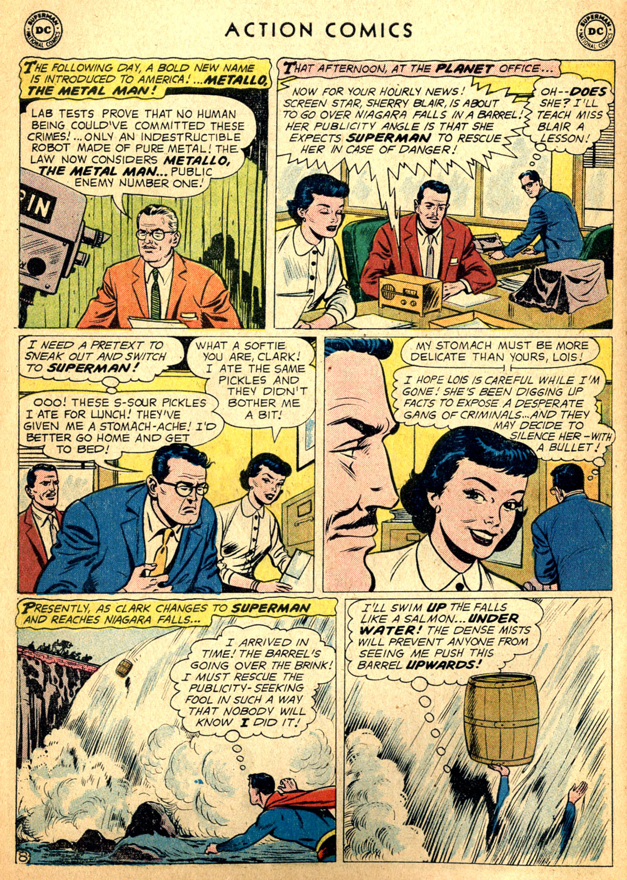 Read online Action Comics (1938) comic -  Issue #252 - 10