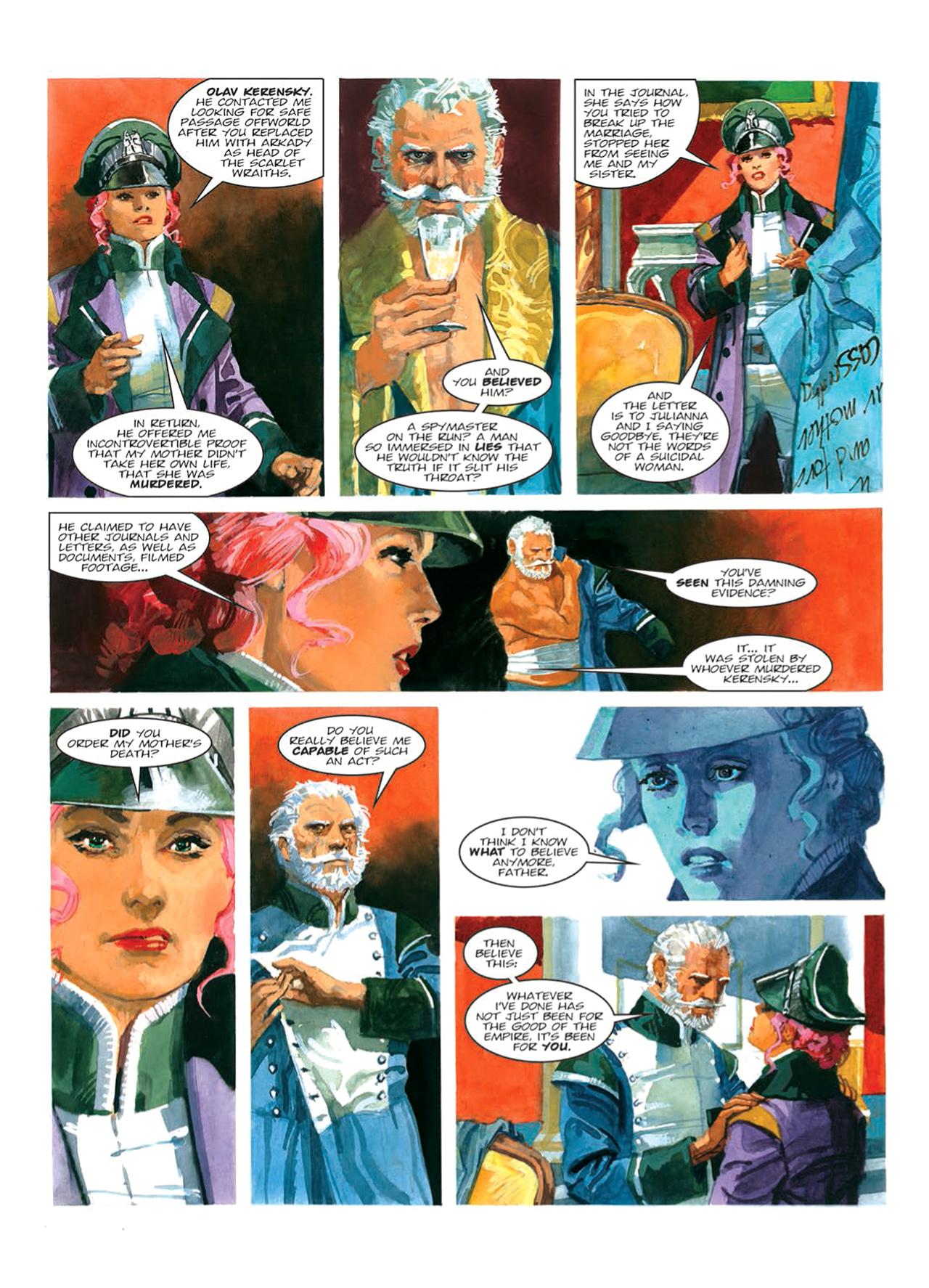Read online Nikolai Dante comic -  Issue # TPB 9 - 85