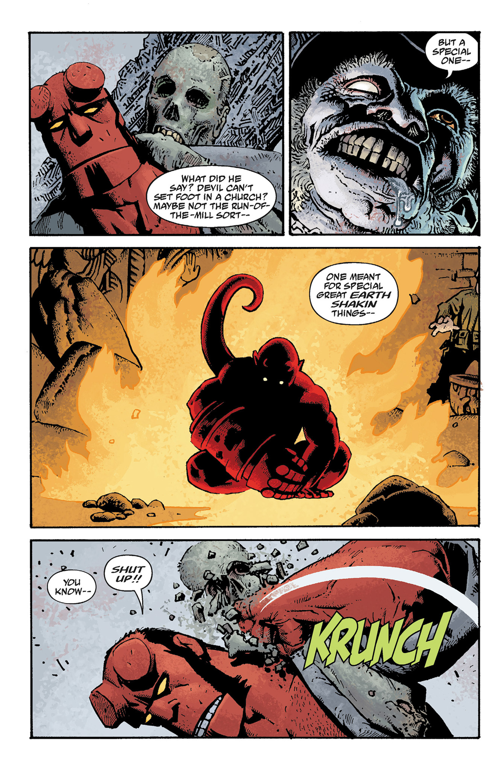 Read online Hellboy: The Crooked Man and Others comic -  Issue # TPB - 70
