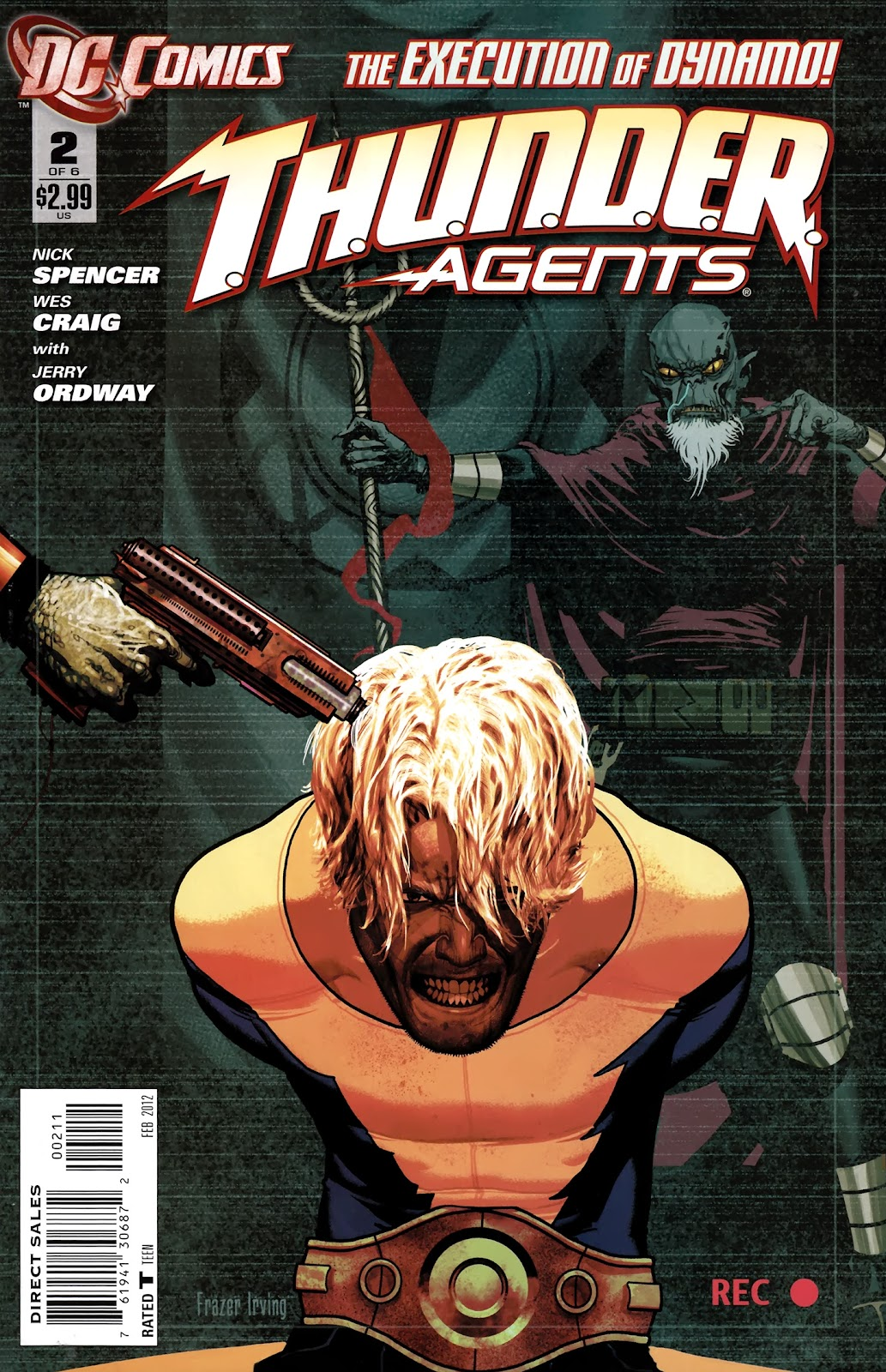 T.H.U.N.D.E.R. Agents (2012) 2 Page 1