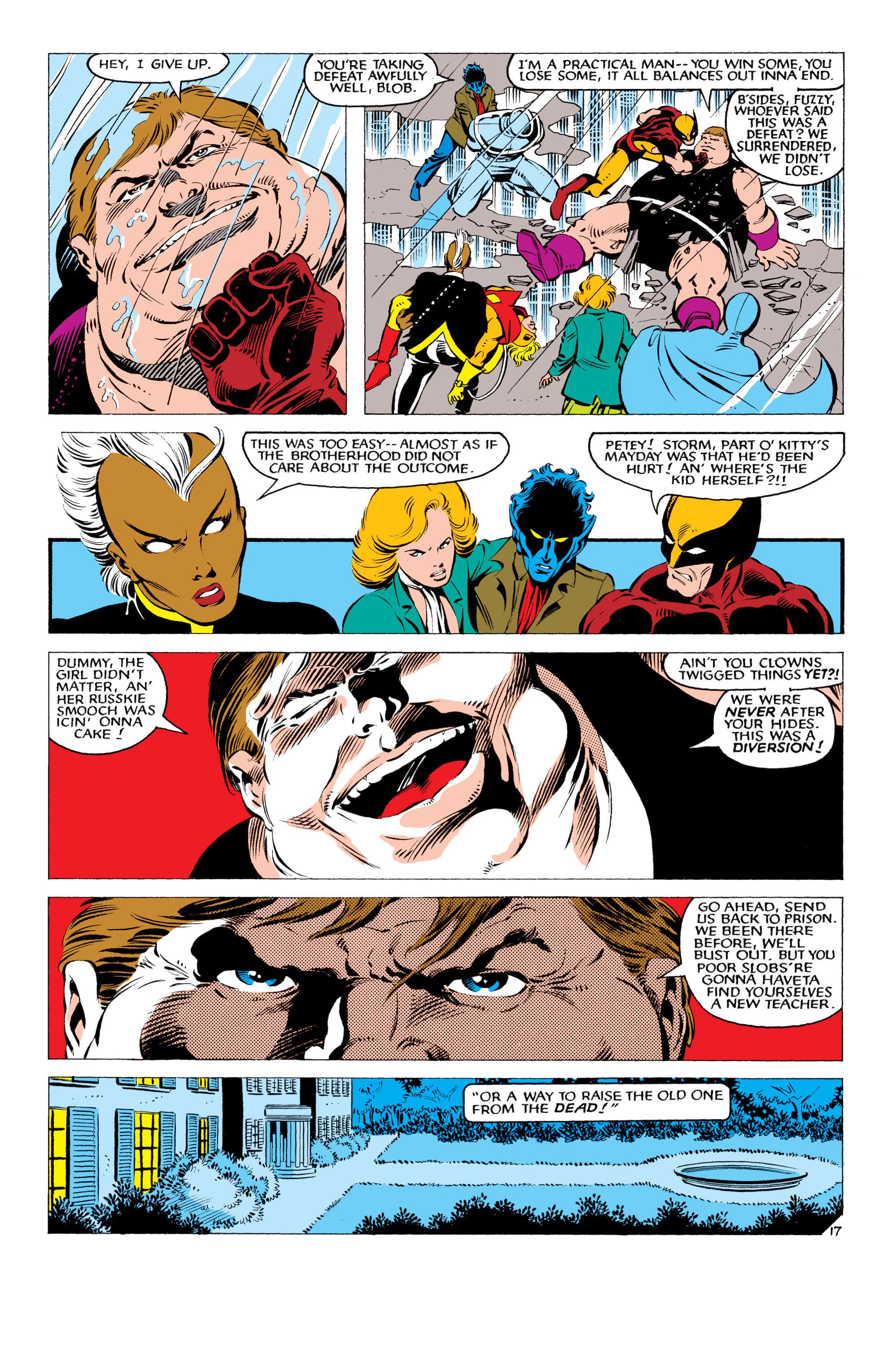Read online Uncanny X-Men (1963) comic -  Issue #178 - 18