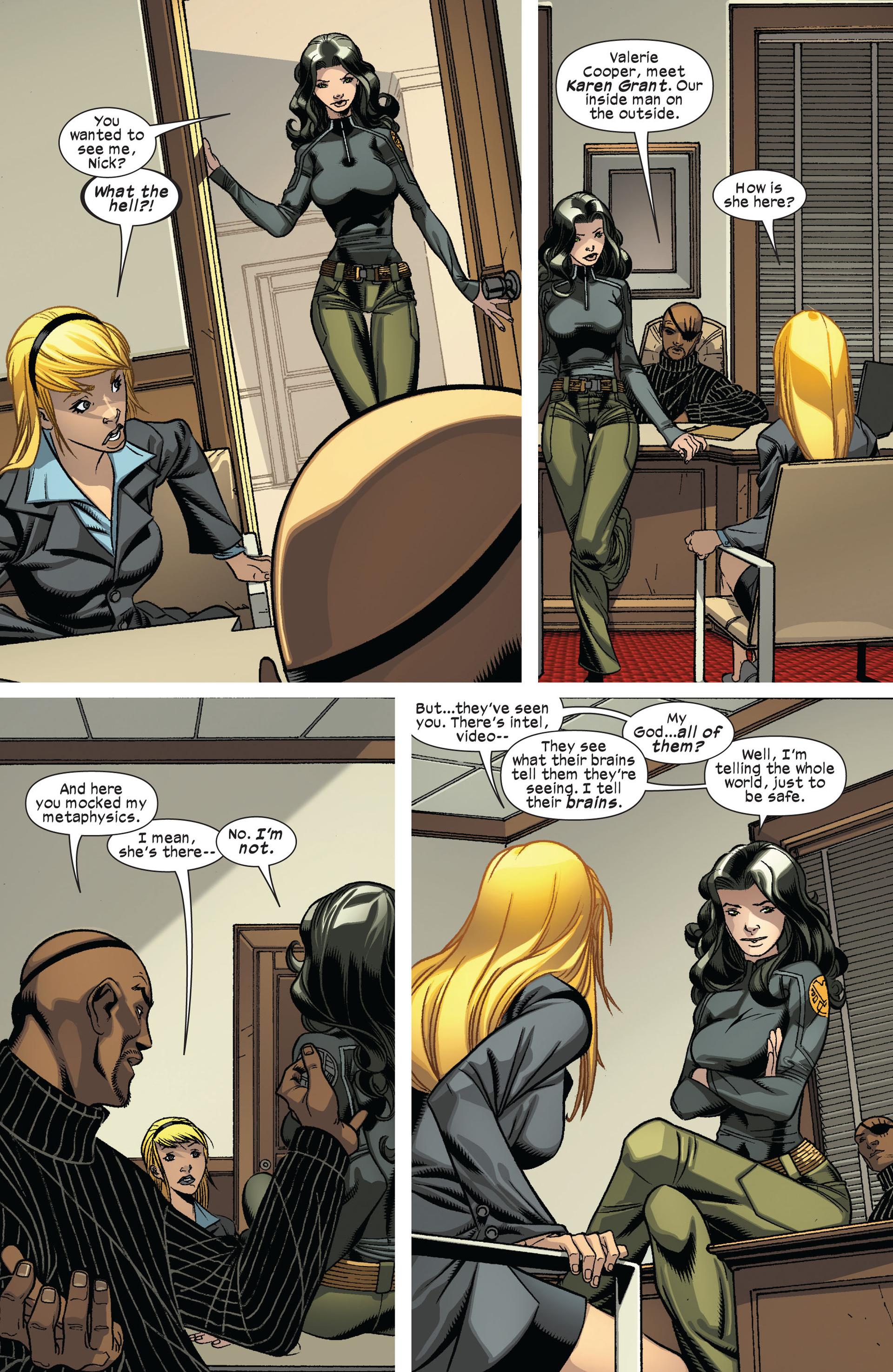 Read online Ultimate Comics X-Men comic -  Issue #8 - 16