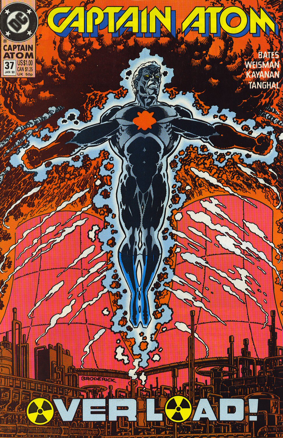 Captain Atom (1987) 37 Page 1