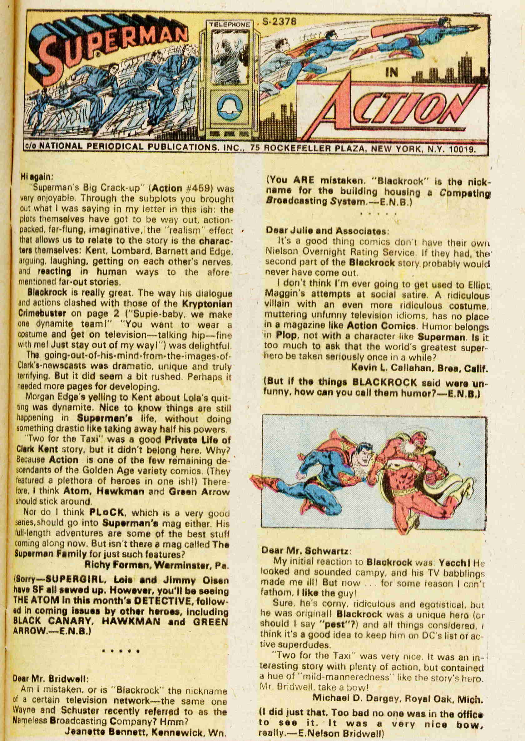 Read online Action Comics (1938) comic -  Issue #463 - 19