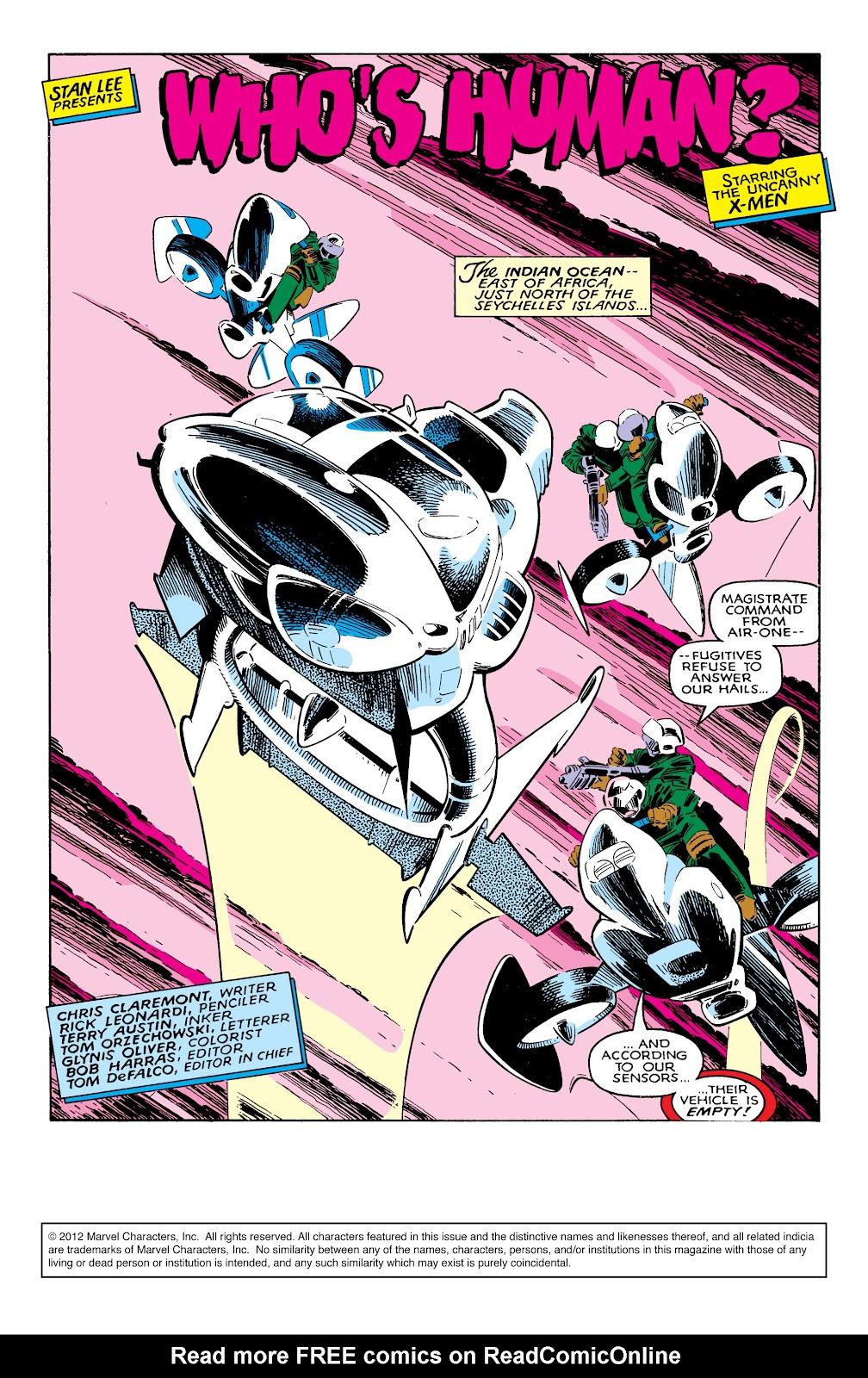 Uncanny X-Men (1963) issue 237 - Page 2