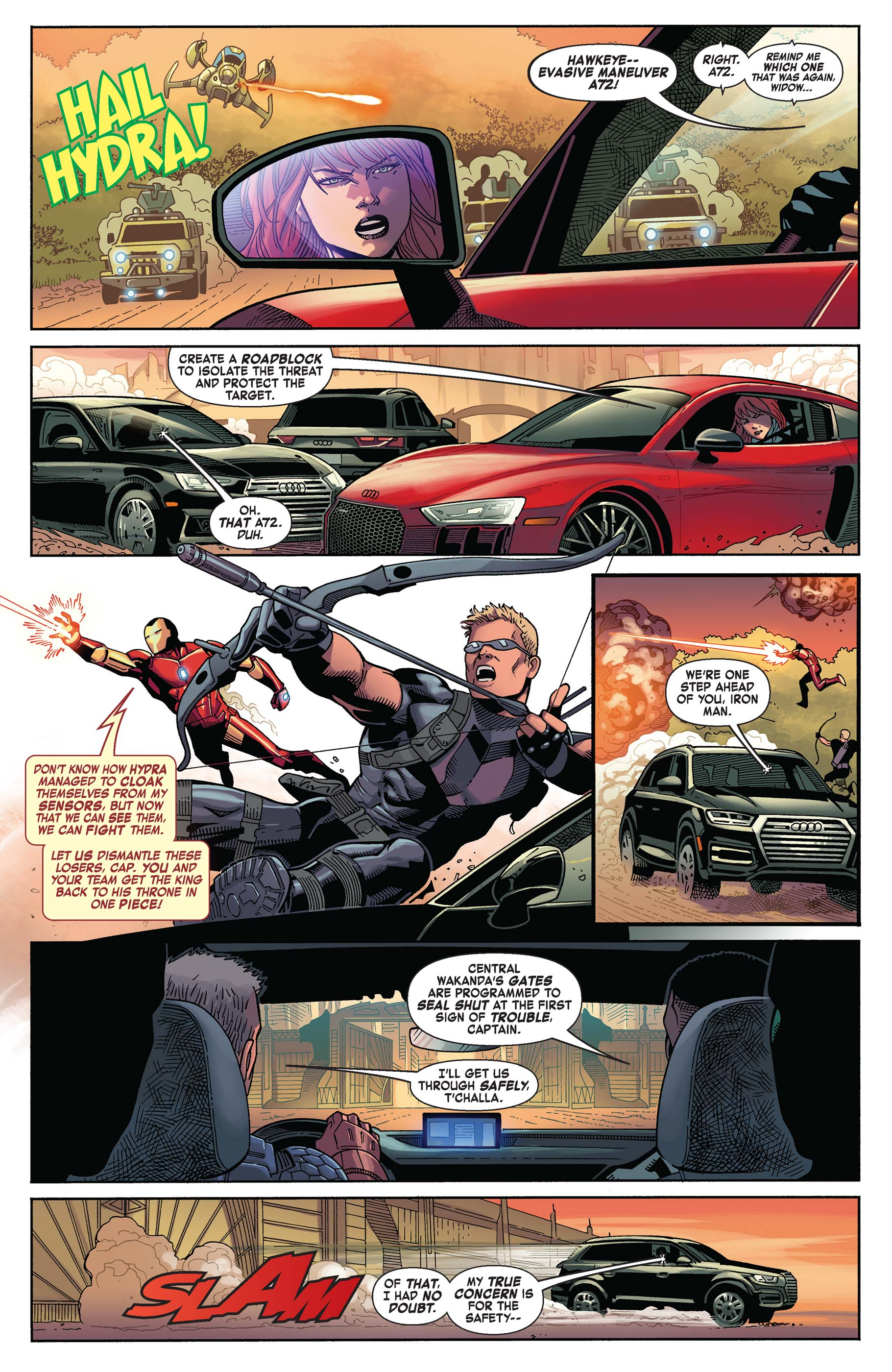 Read online Avengers: King of the Road comic -  Issue # Full - 4