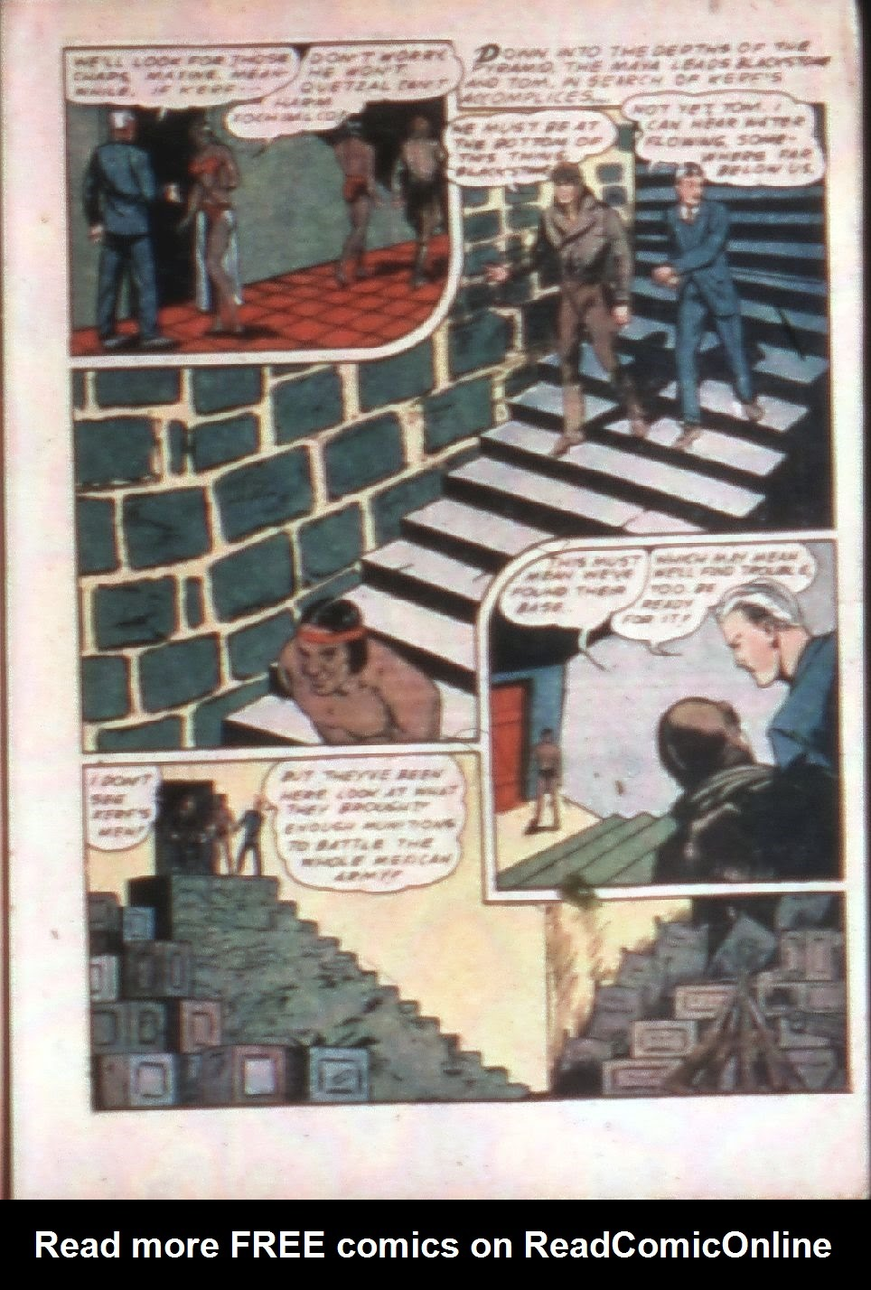 Read online Super-Magician Comics comic -  Issue #4 - 17