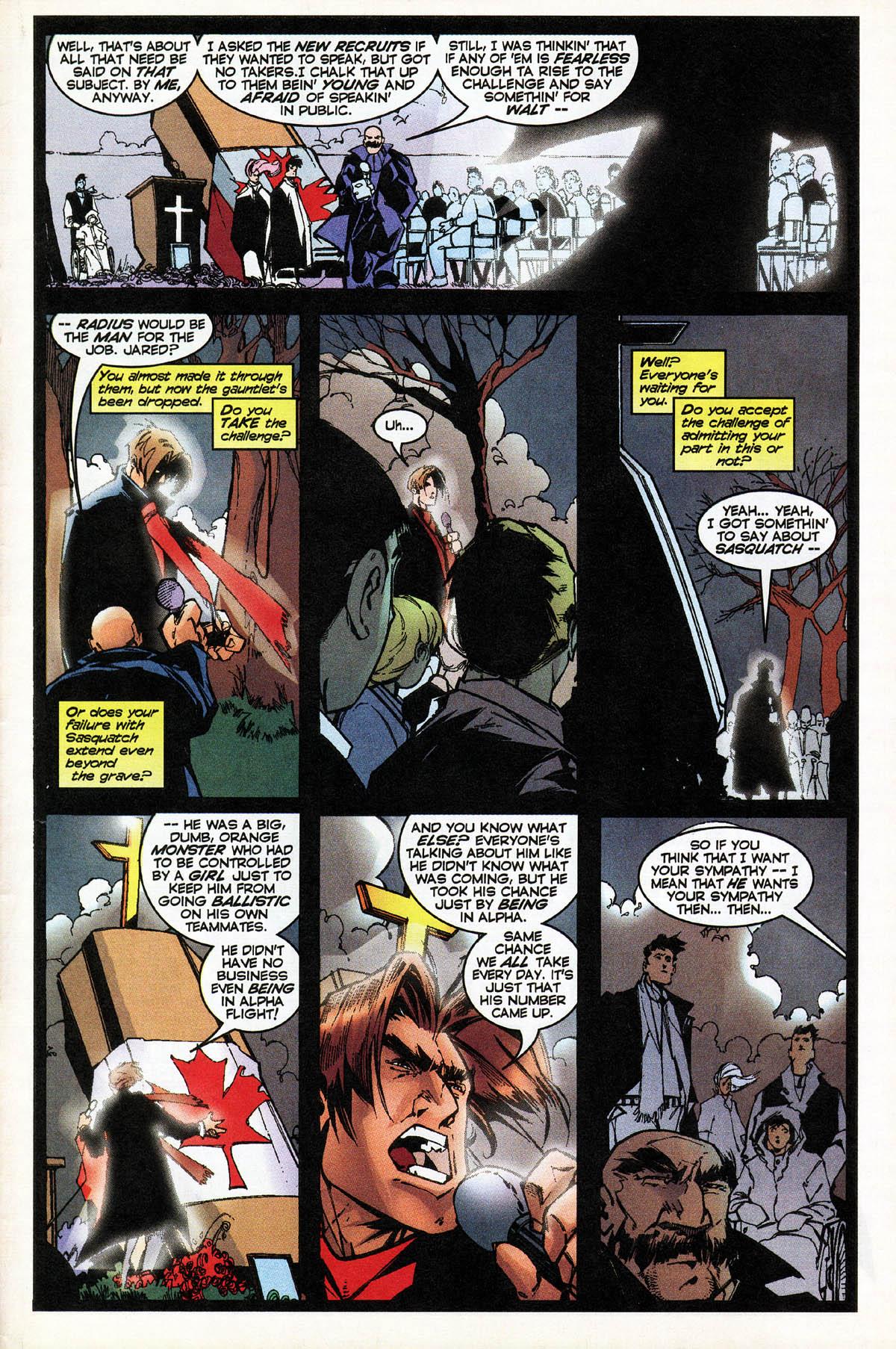 Read online Alpha Flight (1997) comic -  Issue #14 - 27