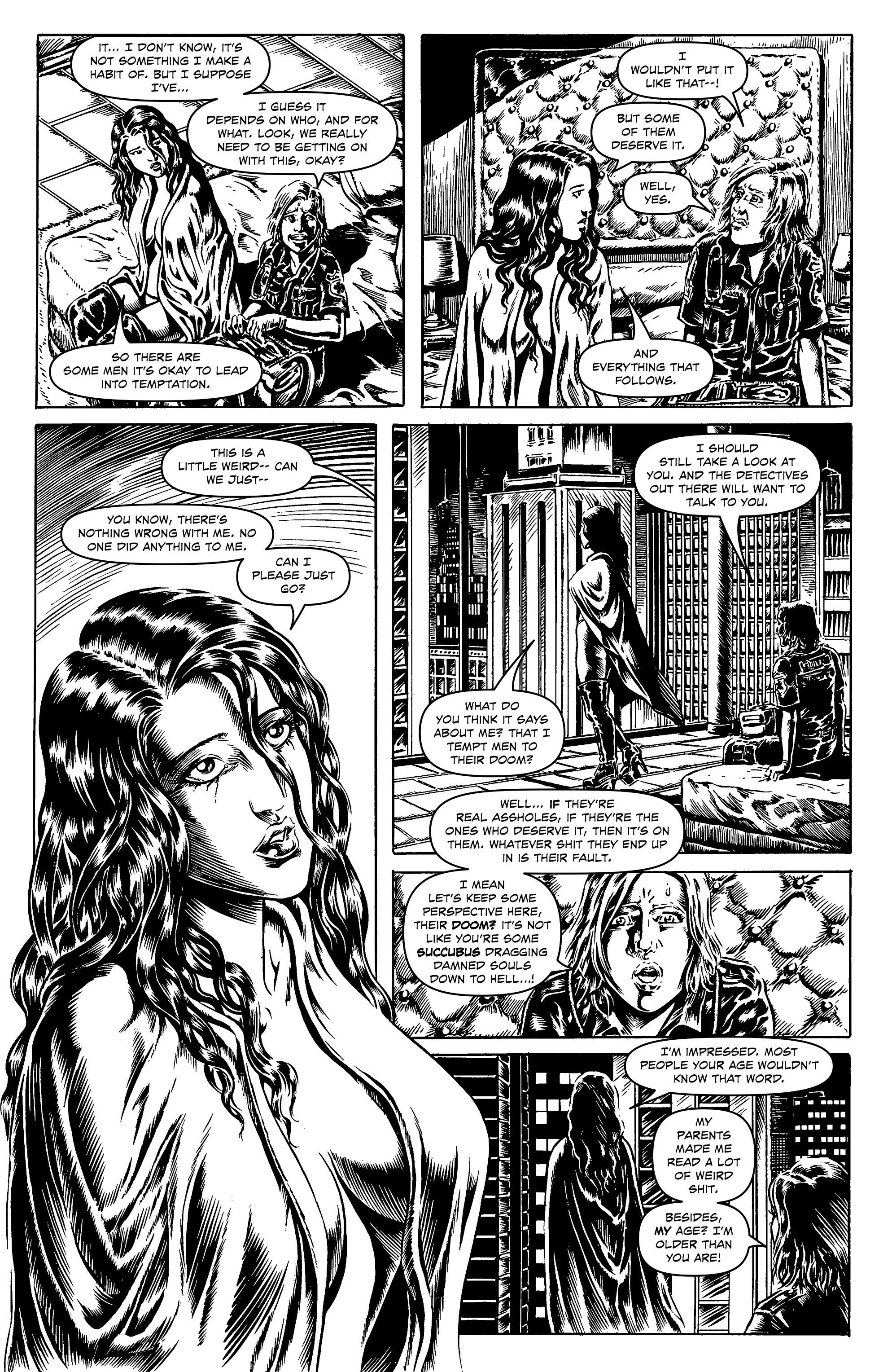 Read online Alan Moore's Cinema Purgatorio comic -  Issue #7 - 18