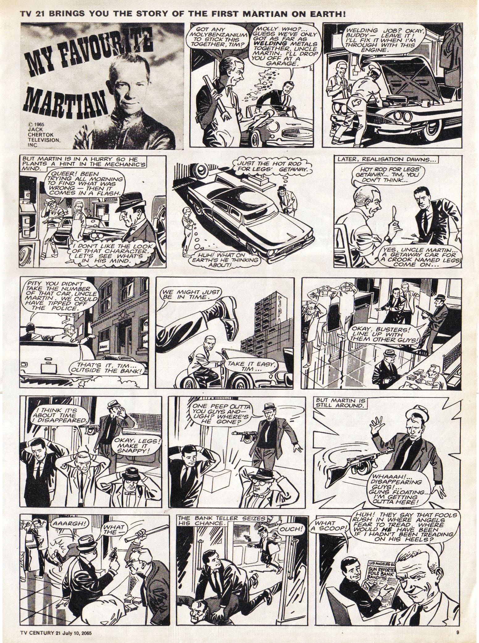 Read online TV Century 21 (TV 21) comic -  Issue #25 - 9