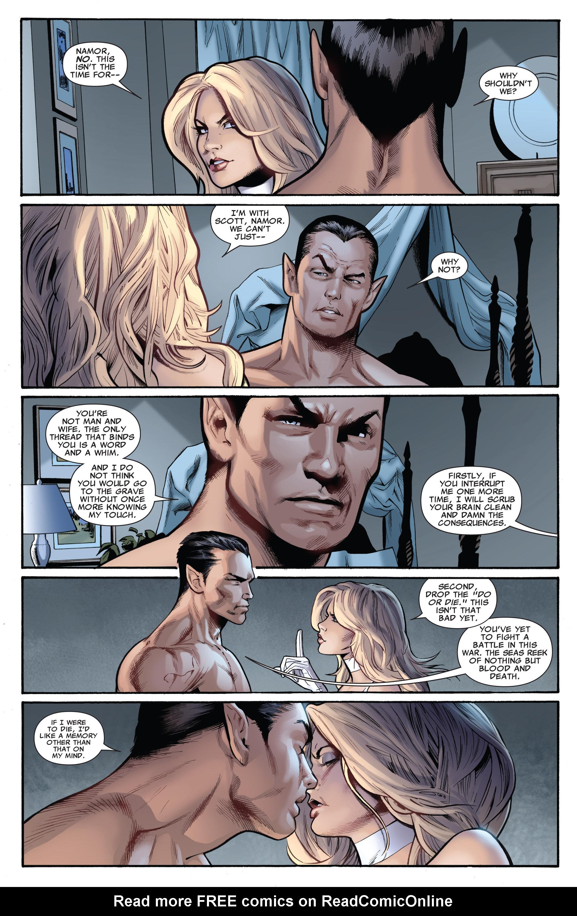 Read online Uncanny X-Men (1963) comic -  Issue #540 - 17