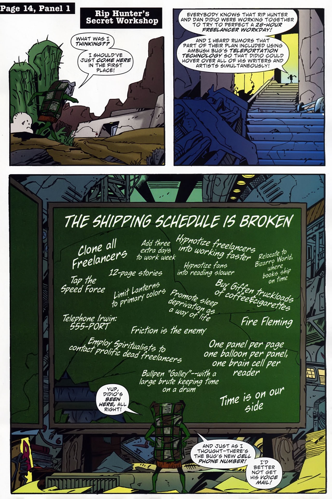 Read online Ambush Bug: Year None comic -  Issue #4 - 15