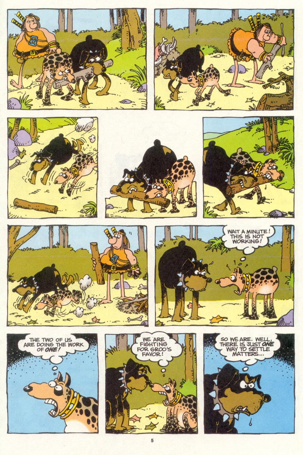 Read online Sergio Aragonés Groo the Wanderer comic -  Issue #104 - 7
