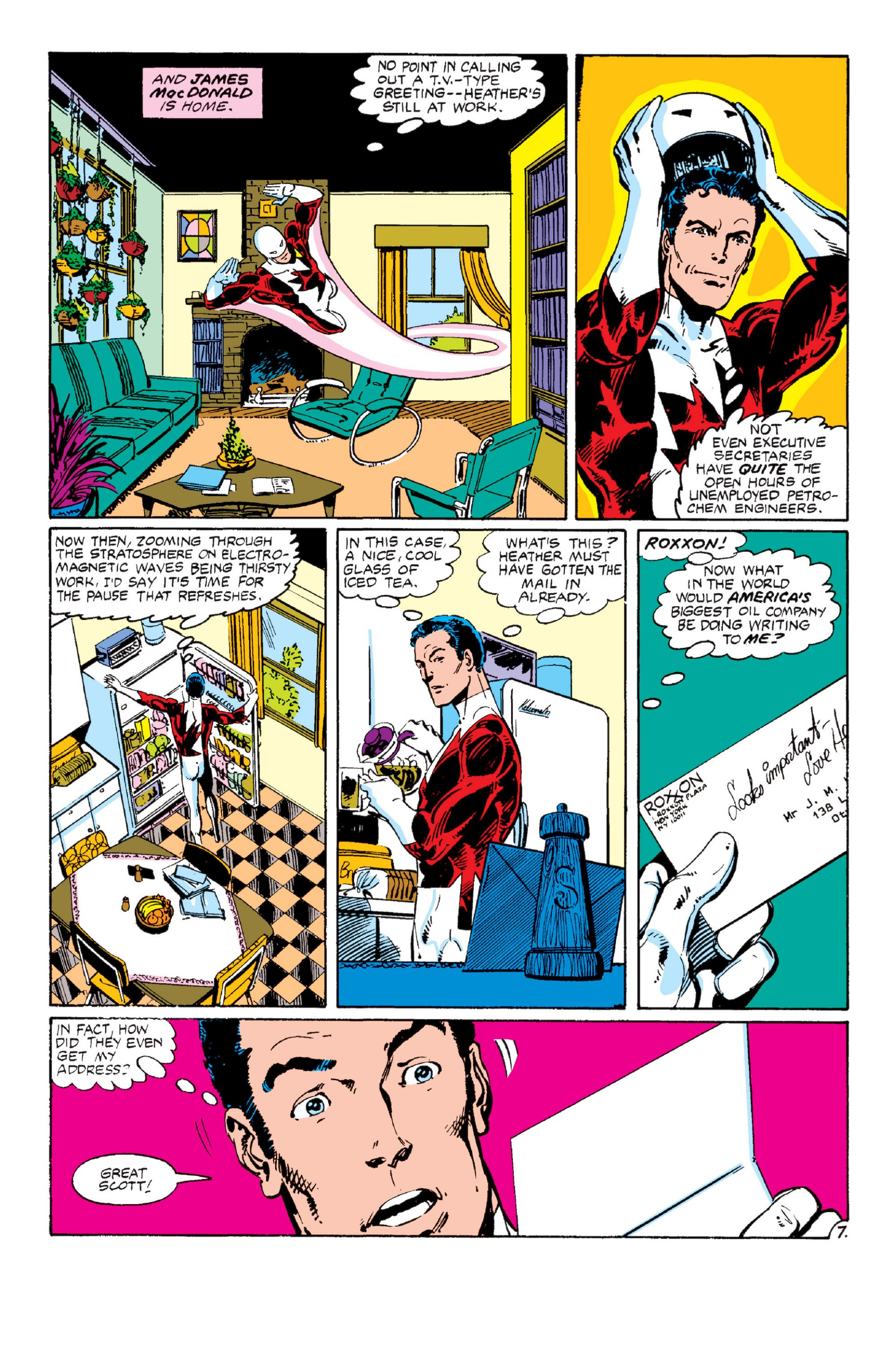 Read online Alpha Flight (1983) comic -  Issue #6 - 8