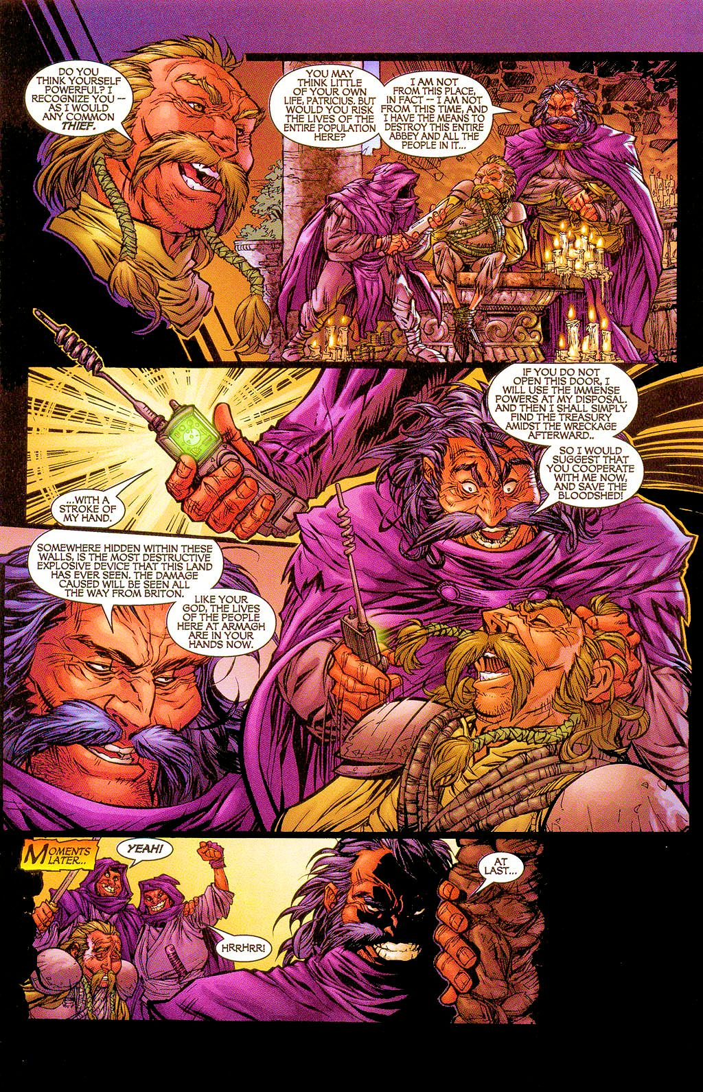 Read online Lady Pendragon / More Than Mortal comic -  Issue #1 - 14