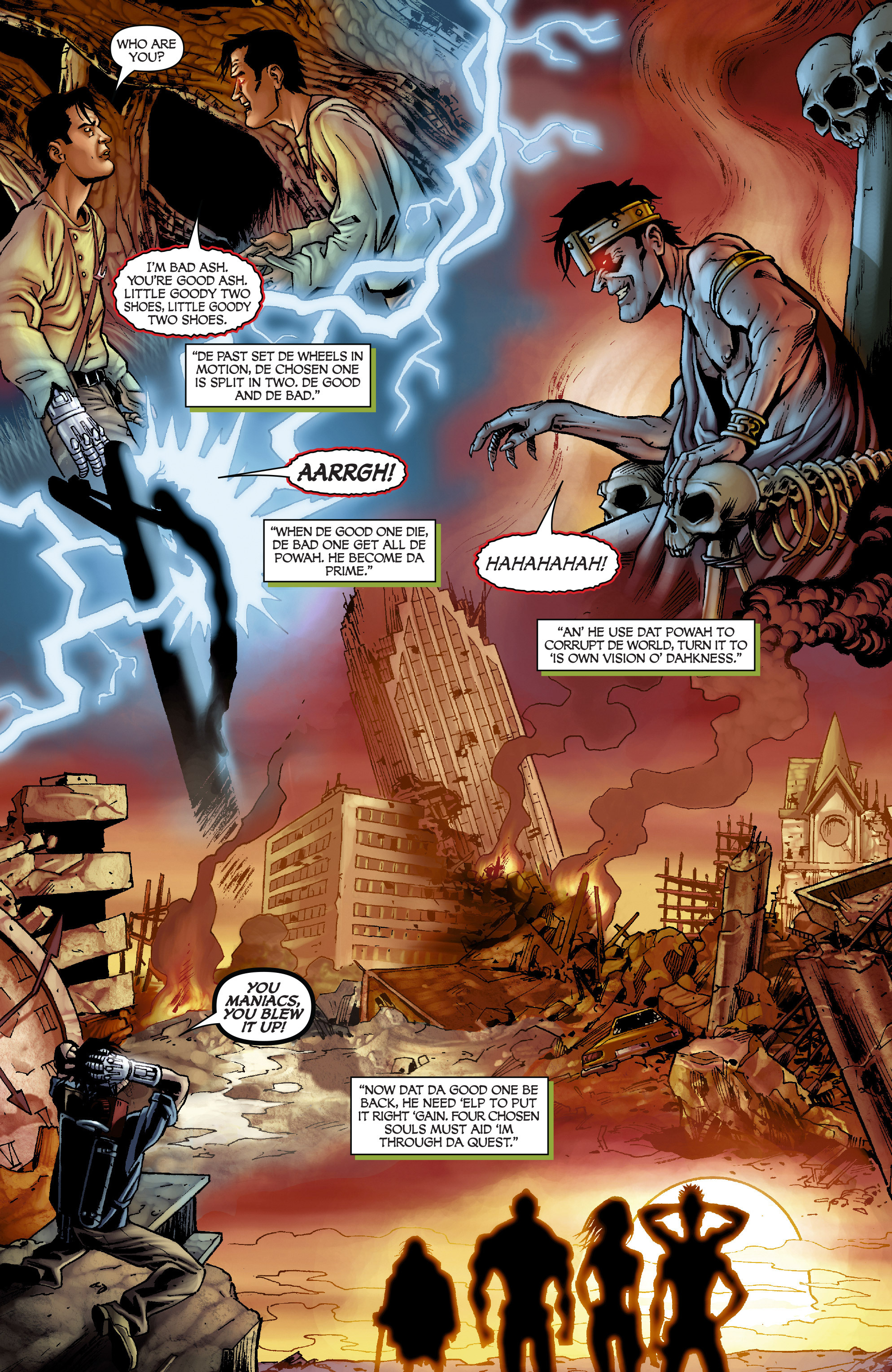 Read online Army of Darkness: From the Ashes comic -  Issue #Army of Darkness: From the Ashes TPB - 25