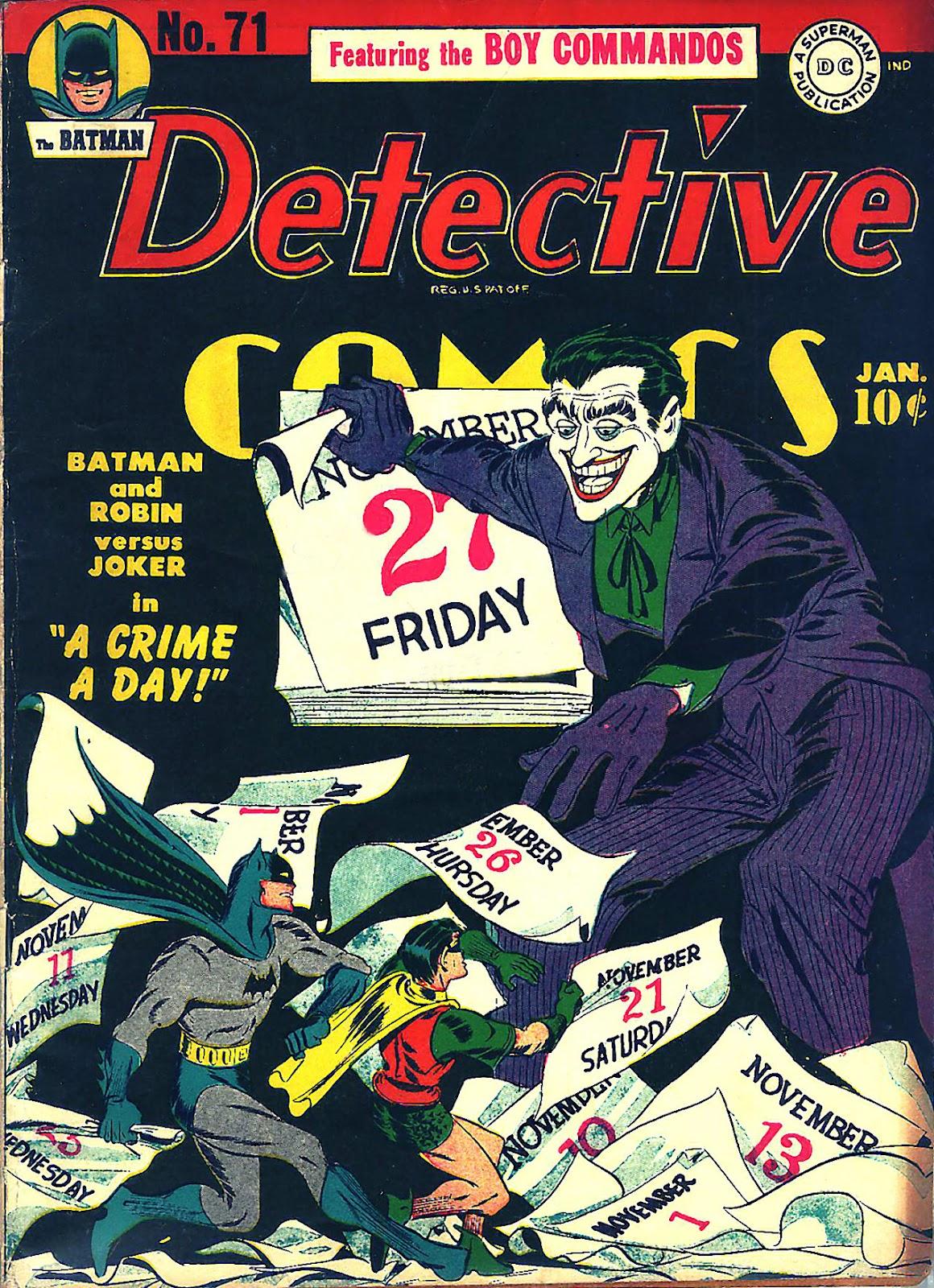 Detective Comics (1937) 71 Page 1