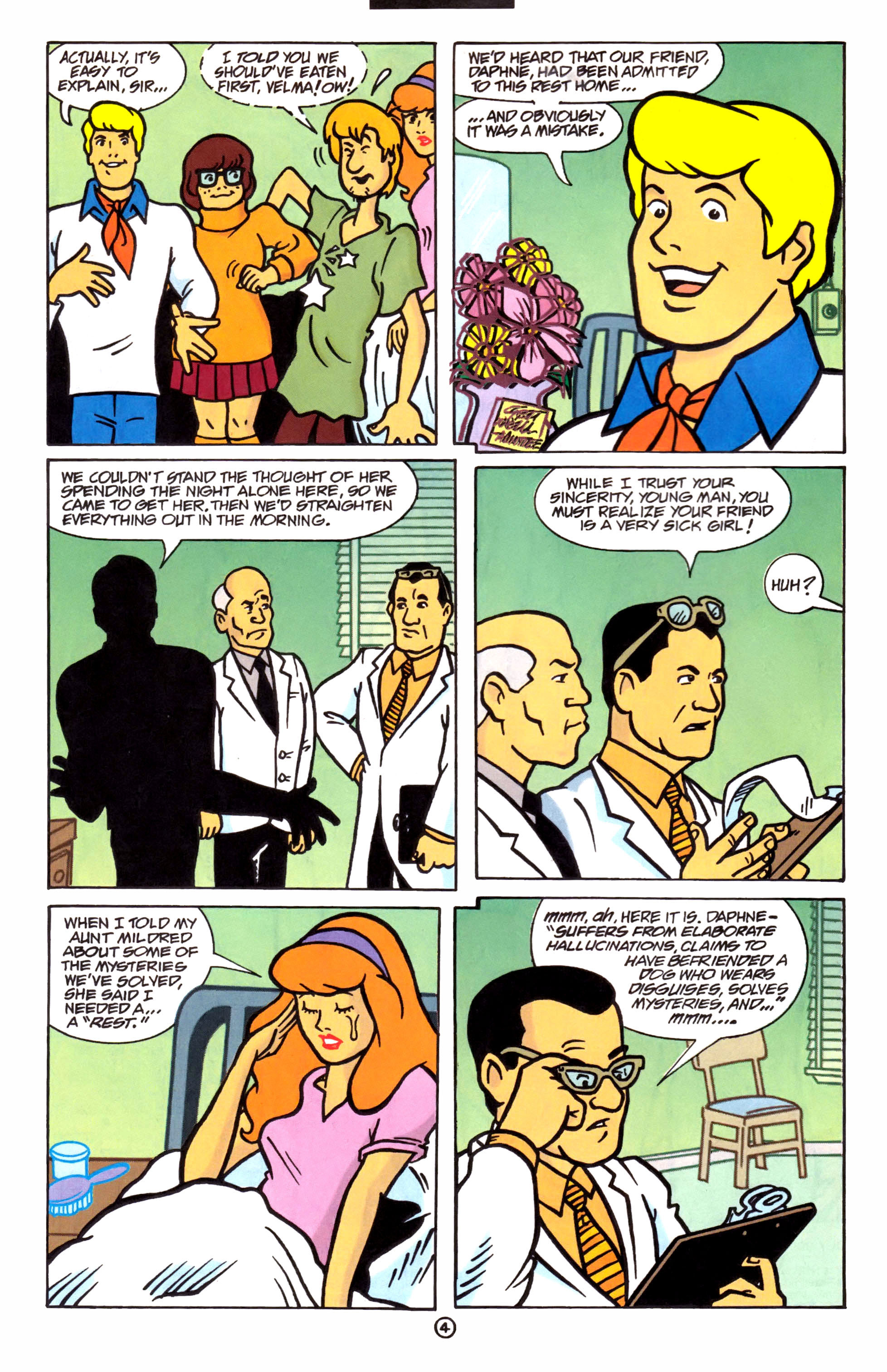 Read online Scooby-Doo (1997) comic -  Issue #1 - 5