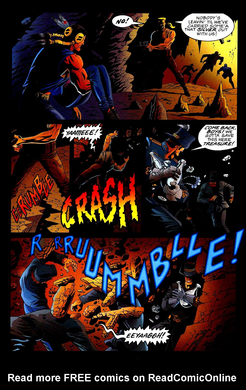 Read online Turok, Dinosaur Hunter (1993) comic -  Issue #40 - 22