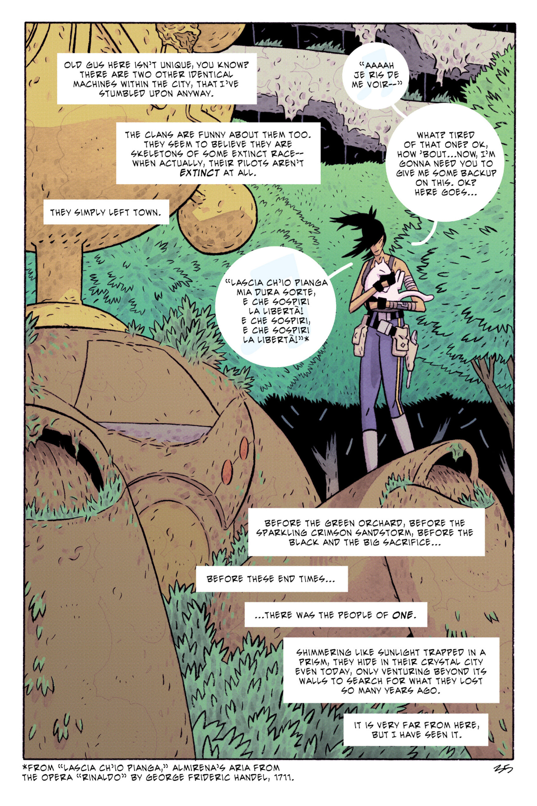Read online ApocalyptiGirl: An Aria for the End Times comic -  Issue #ApocalyptiGirl: An Aria for the End Times Full - 43