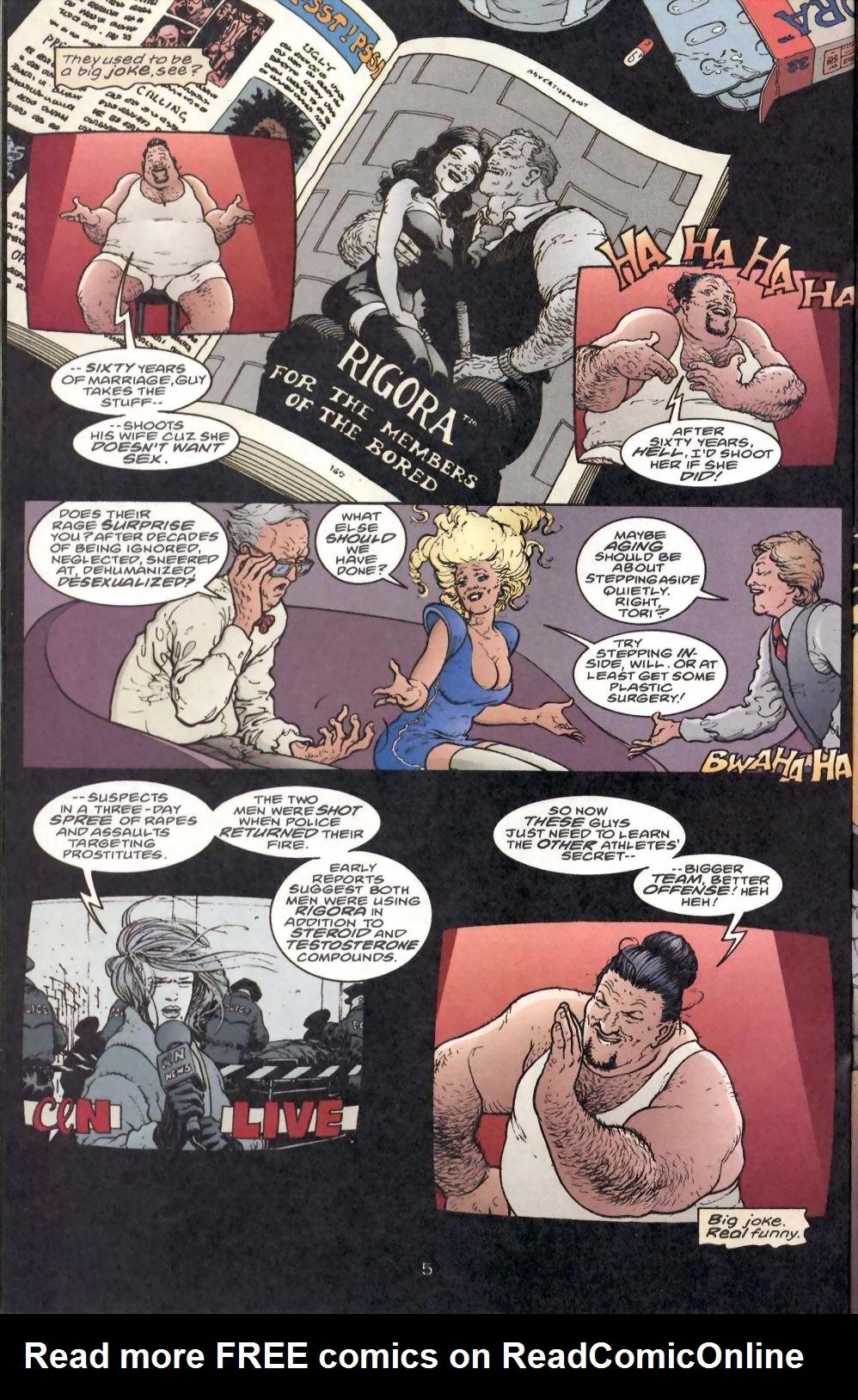 Read online Flinch comic -  Issue #1 - 14