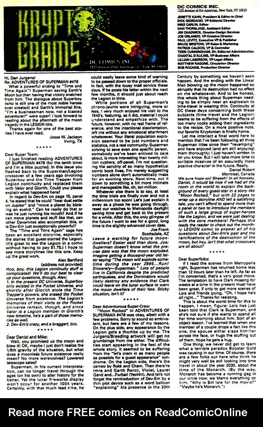 Read online Adventures of Superman (1987) comic -  Issue #482 - 24