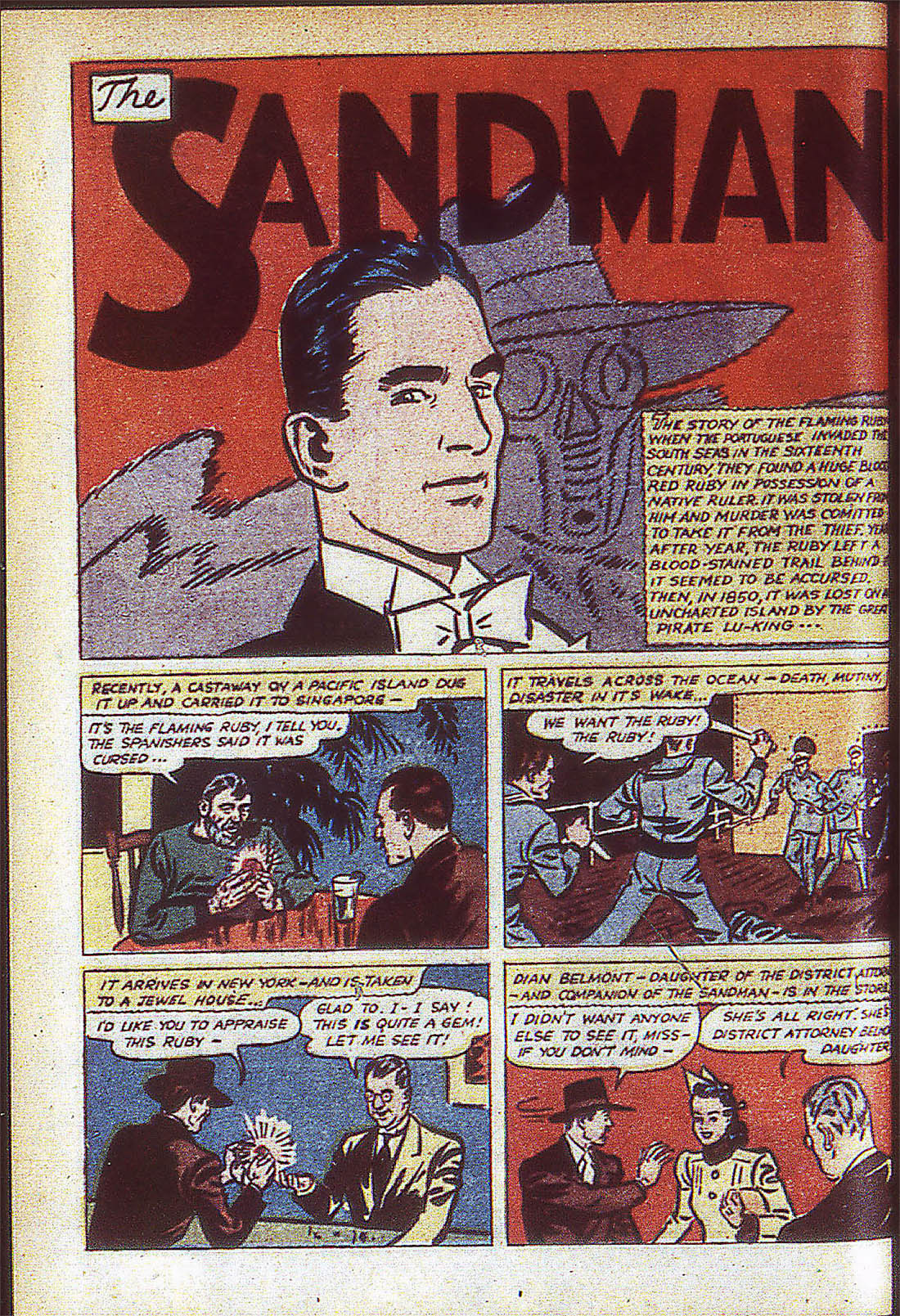Read online Adventure Comics (1938) comic -  Issue #59 - 57