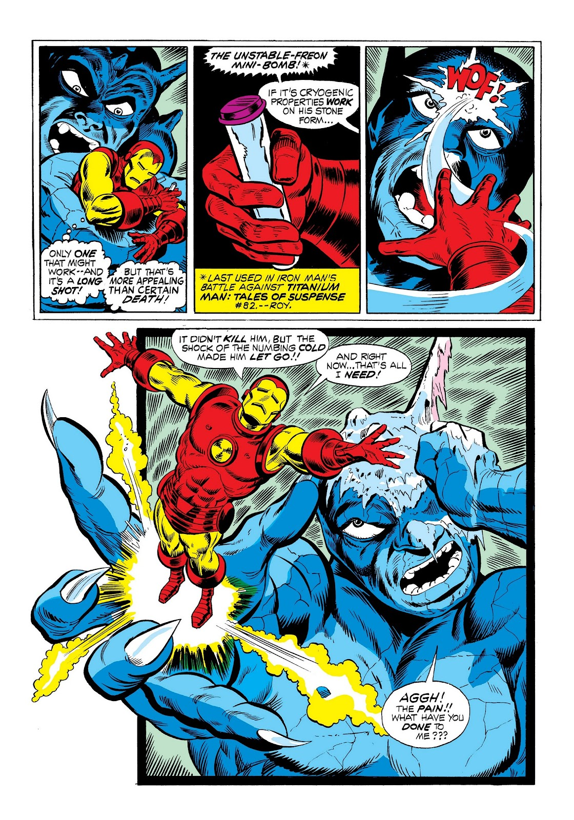Read online Marvel Masterworks: The Invincible Iron Man comic -  Issue # TPB 9 (Part 1) - 67