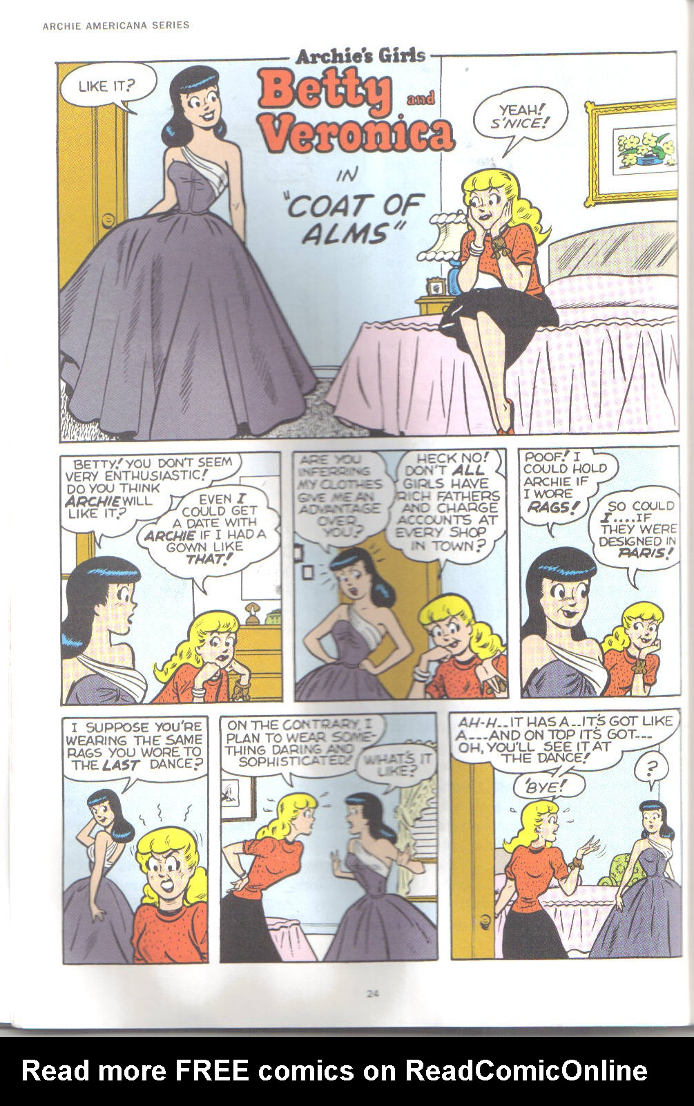 Read online Archie's Girls Betty and Veronica comic -  Issue #18 - 2