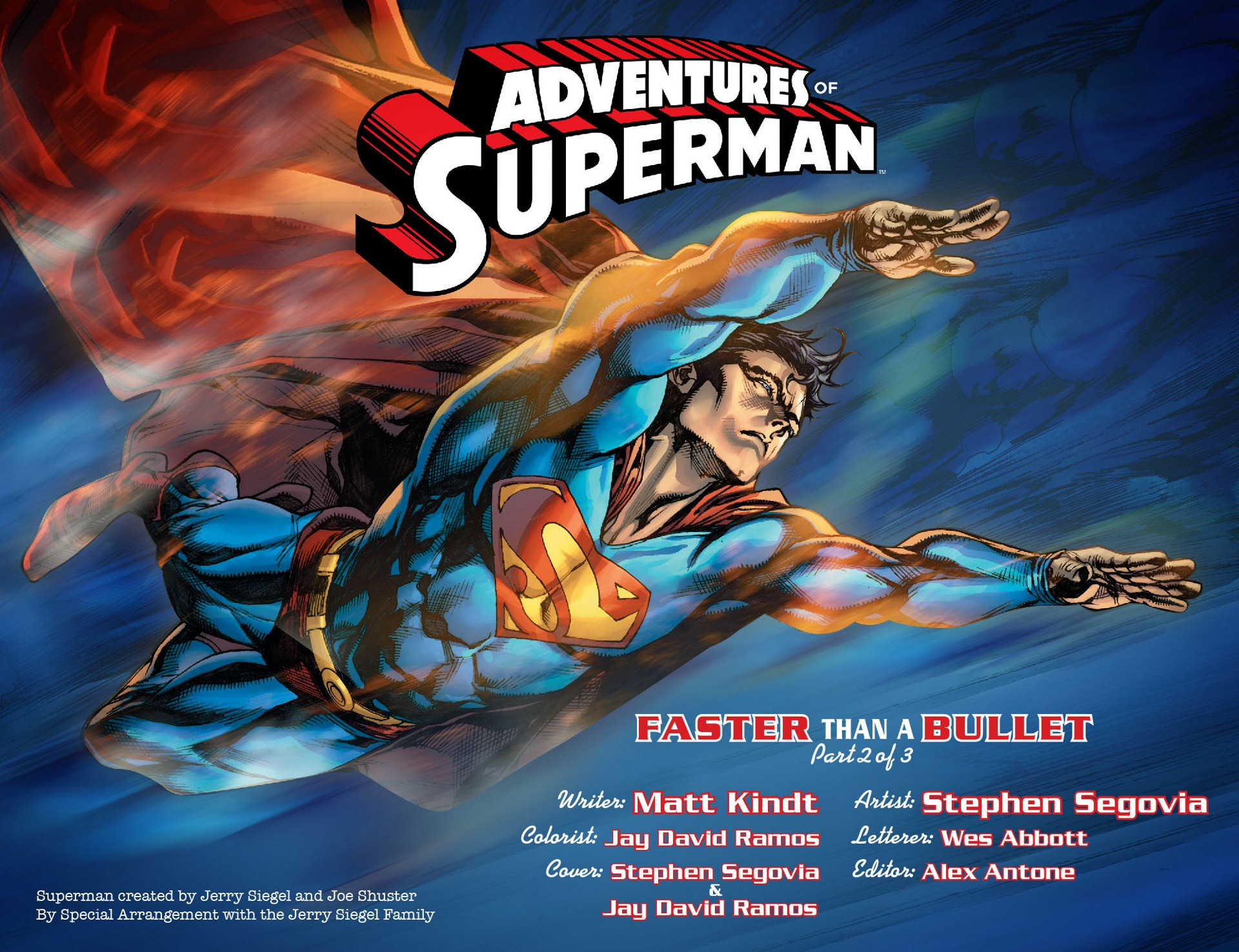 Read online Adventures of Superman [I] comic -  Issue #8 - 2