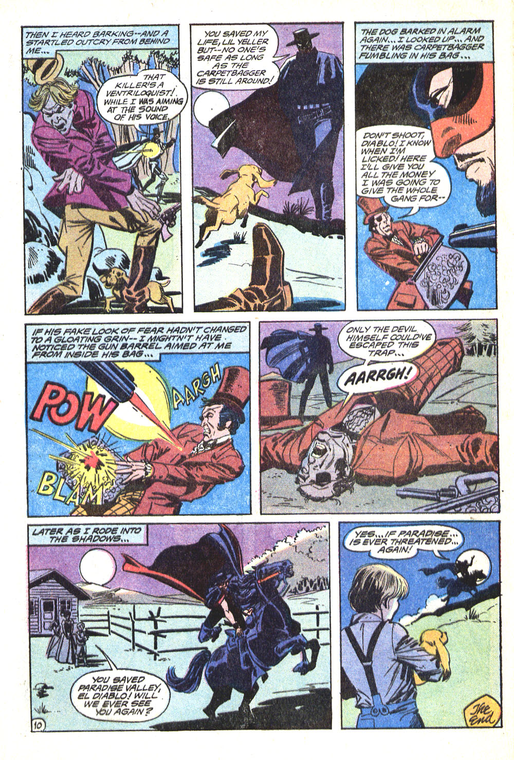 Read online All-Star Western (1970) comic -  Issue #5 - 32