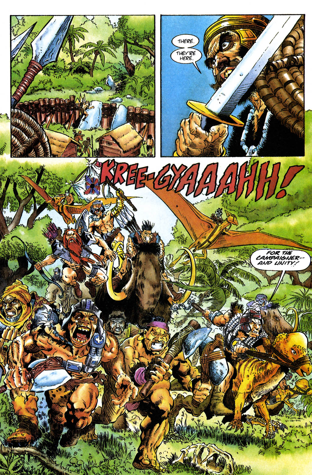 Read online Turok, Dinosaur Hunter (1993) comic -  Issue #24 - 12