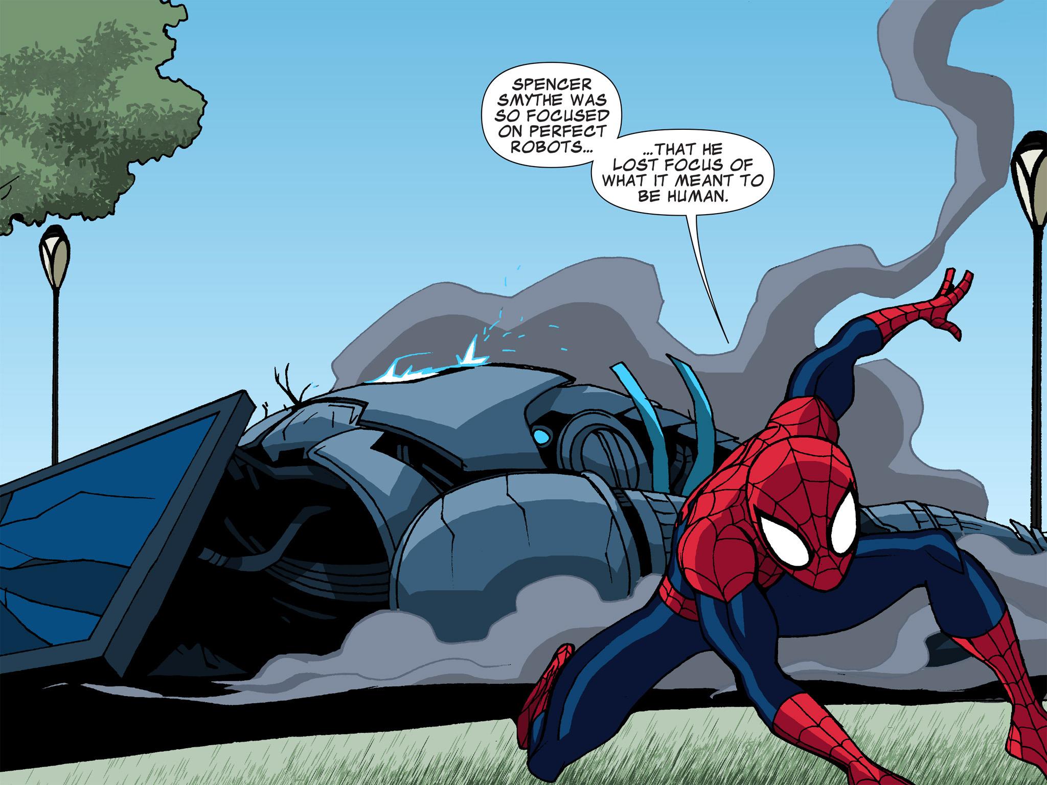 Read online Ultimate Spider-Man (Infinite Comics) (2015) comic -  Issue #6 - 37