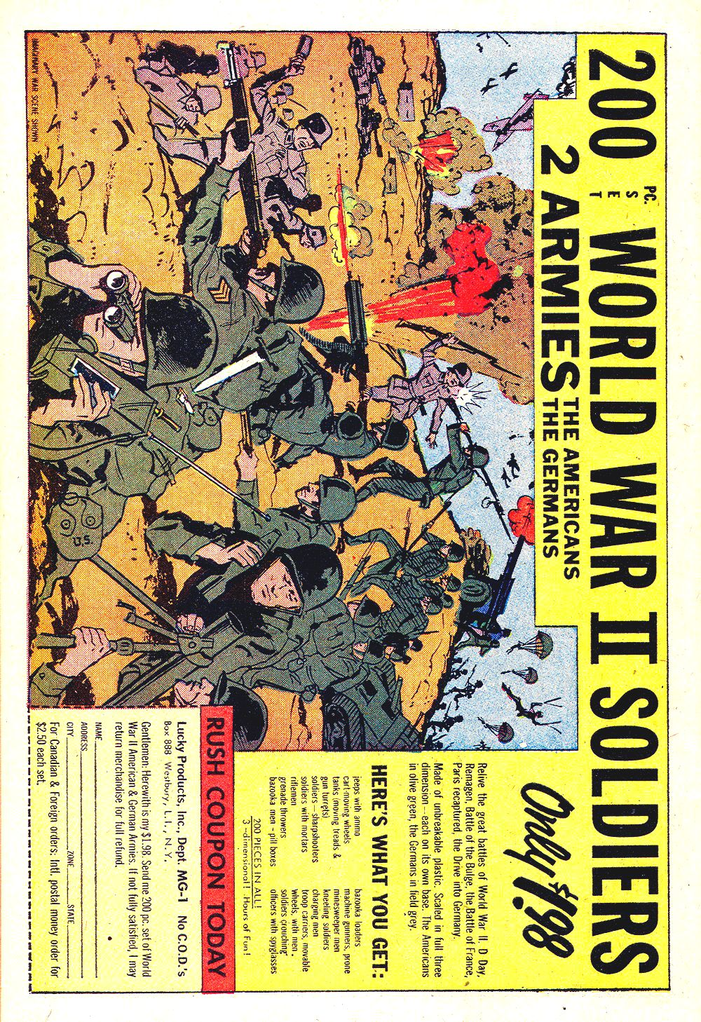 Read online Sgt. Fury comic -  Issue #34 - 34