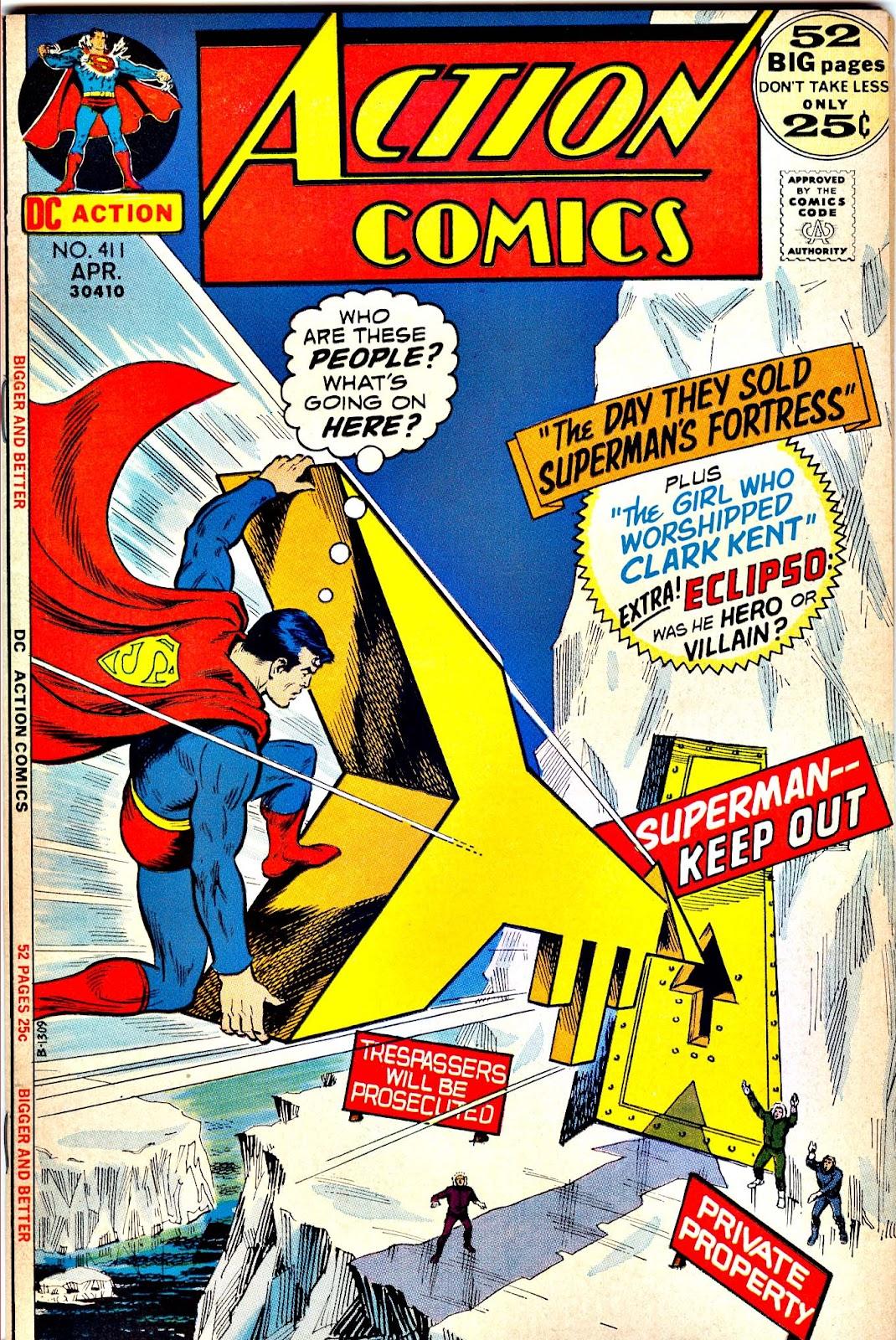 Action Comics (1938) 411 Page 1