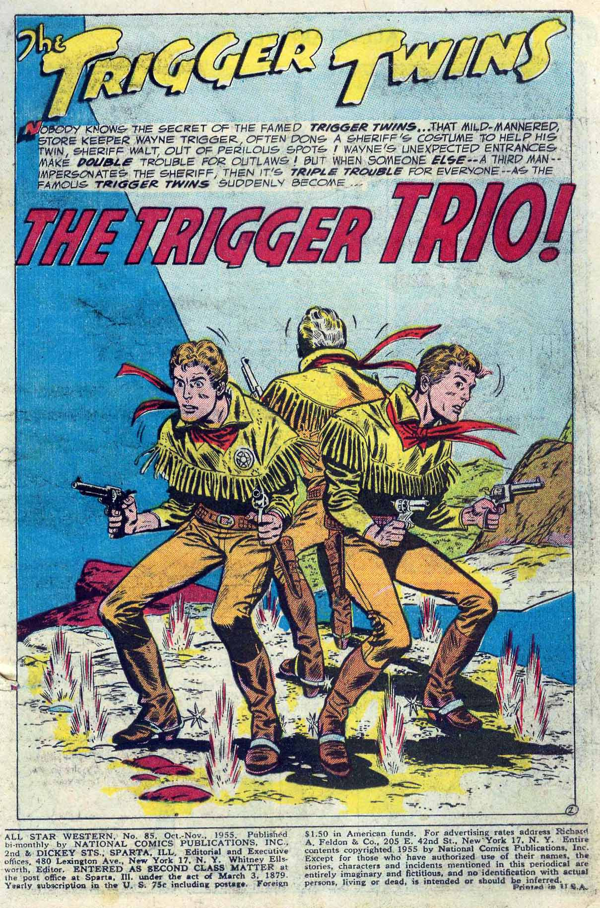 Read online All-Star Western (1951) comic -  Issue #85 - 3