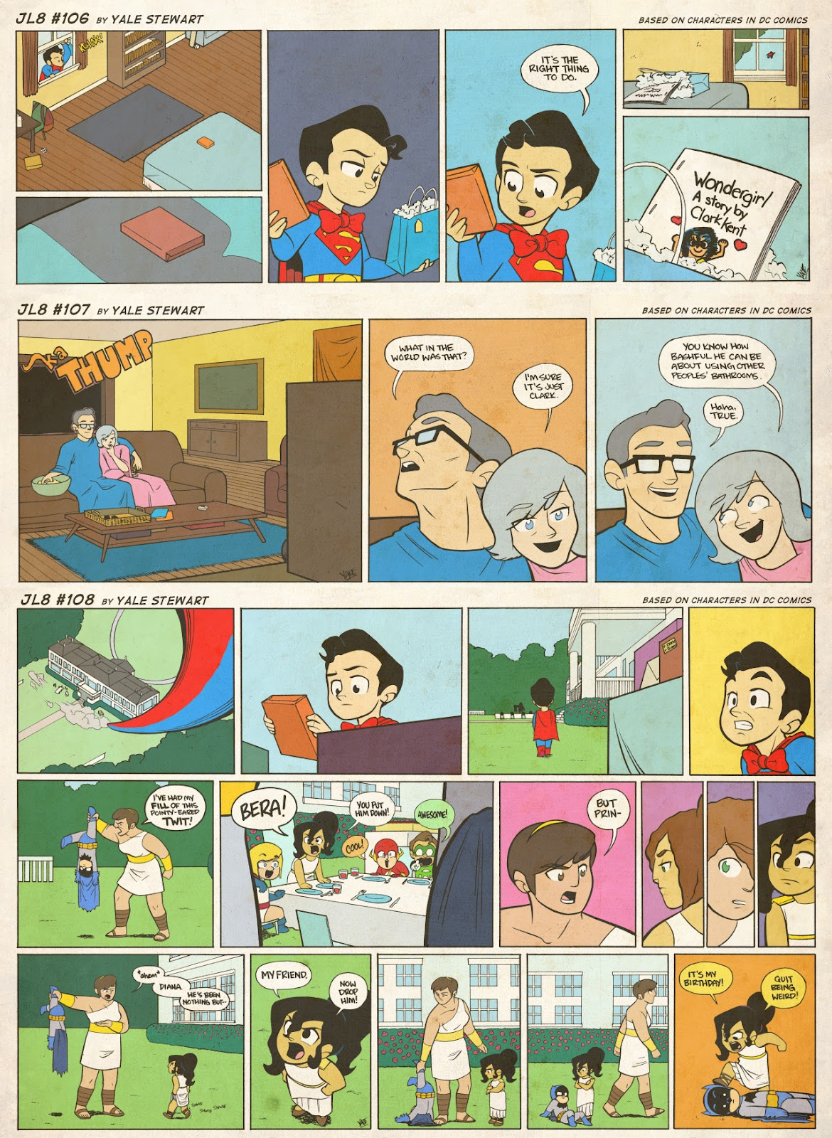 Read online JL8 – The Complete Collection comic -  Issue # TPB (Part 1) - 50