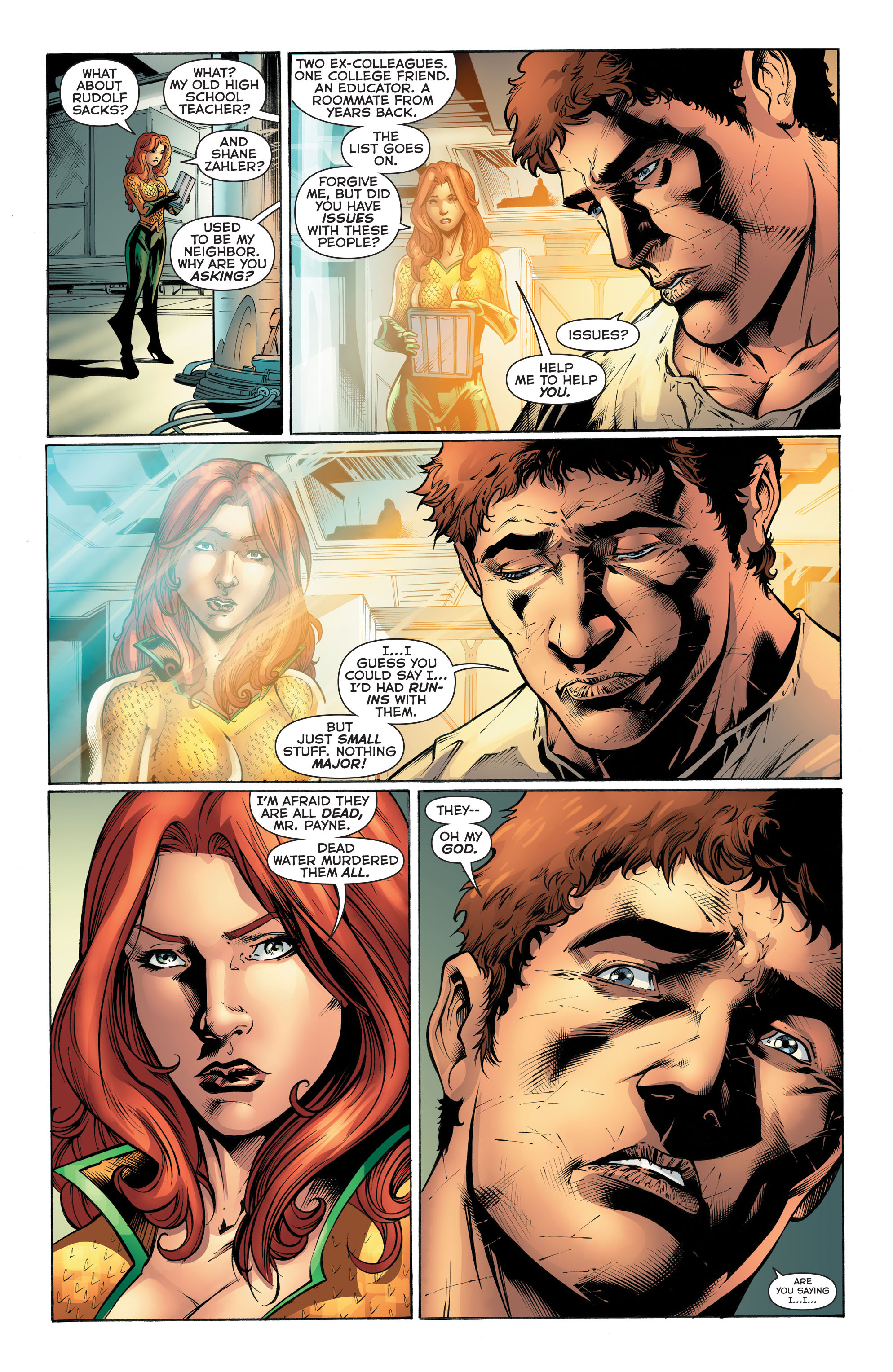 Read online Aquaman (2011) comic -  Issue #51 - 13