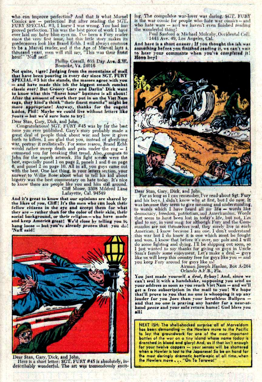 Read online Sgt. Fury comic -  Issue #48 - 32