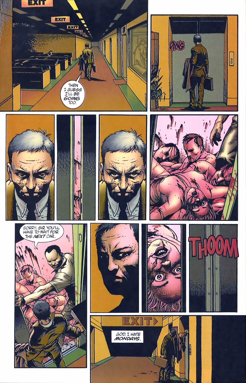 Read online Flinch comic -  Issue #12 - 24