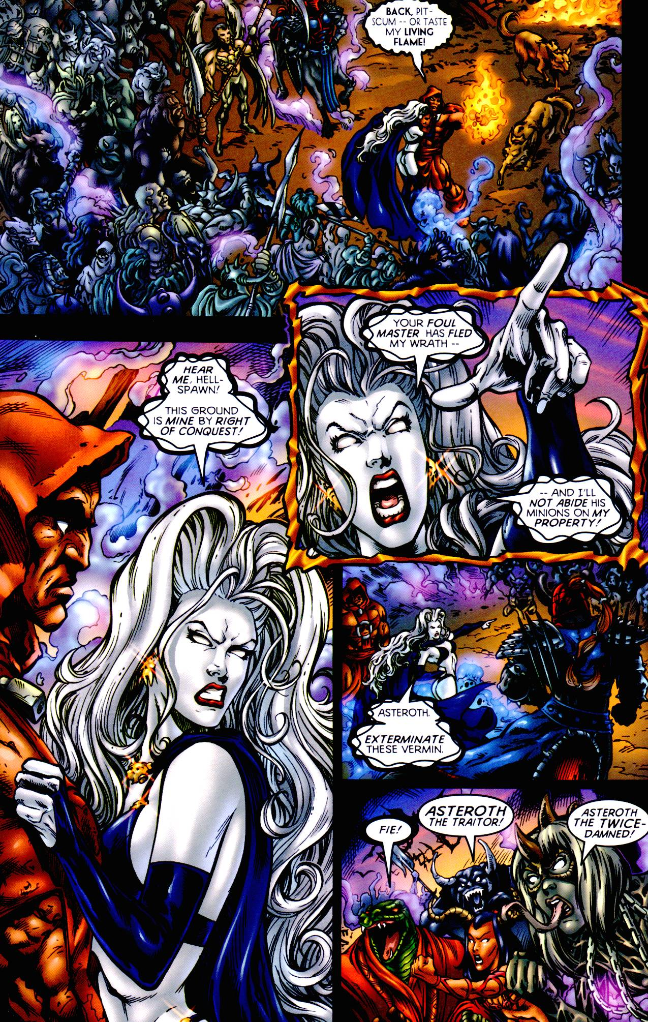 Read online Armageddon (1999) comic -  Issue #1 - 12