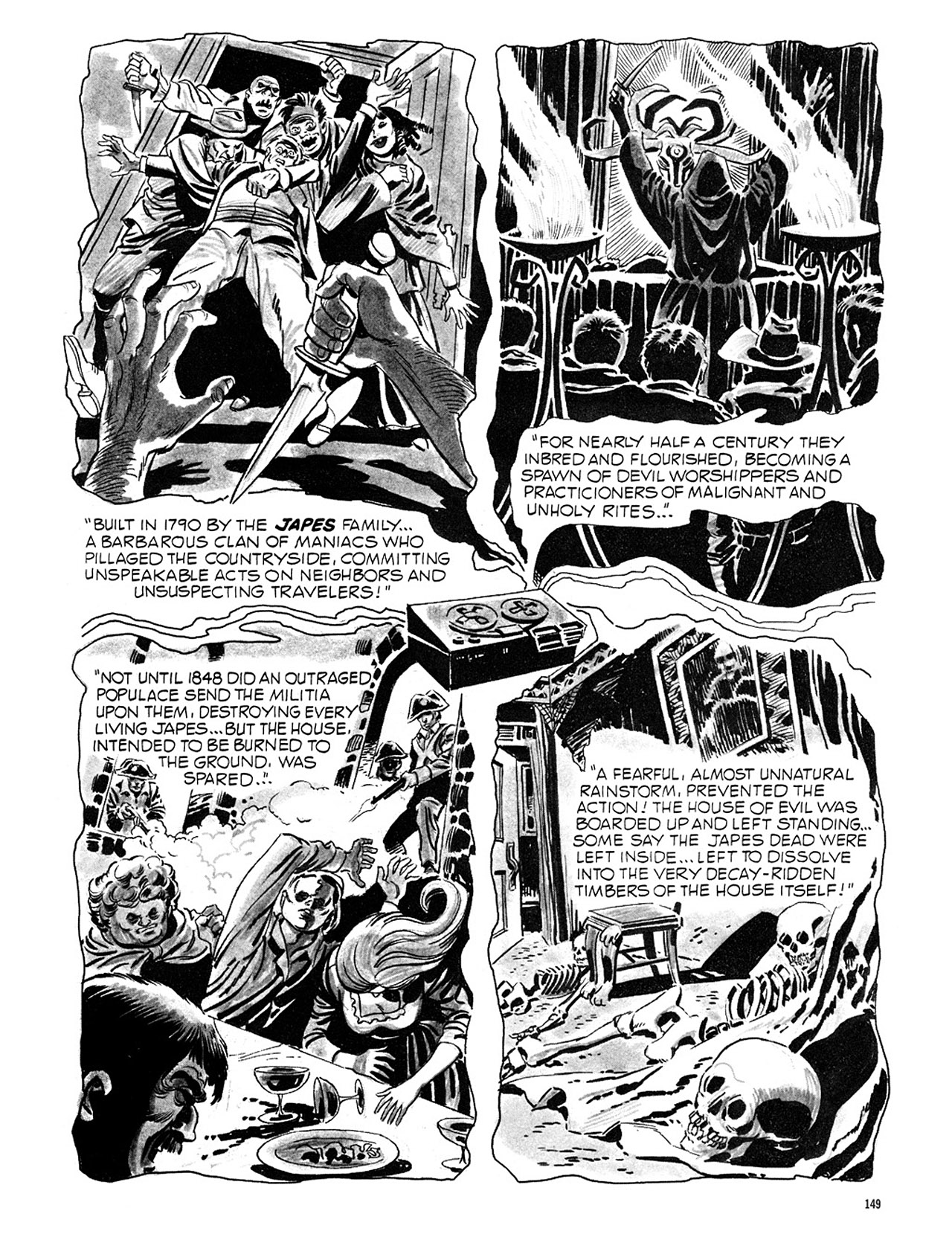 Read online Eerie Archives comic -  Issue # TPB 1 - 150