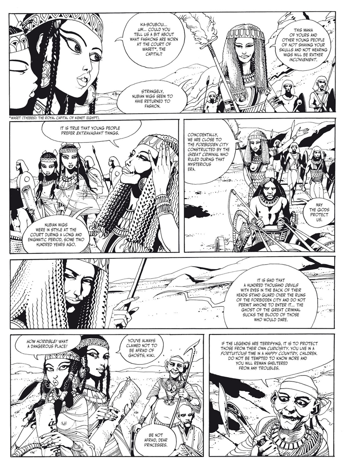 Read online The Egyptian Princesses comic -  Issue # TPB 1 (Part 1) - 10