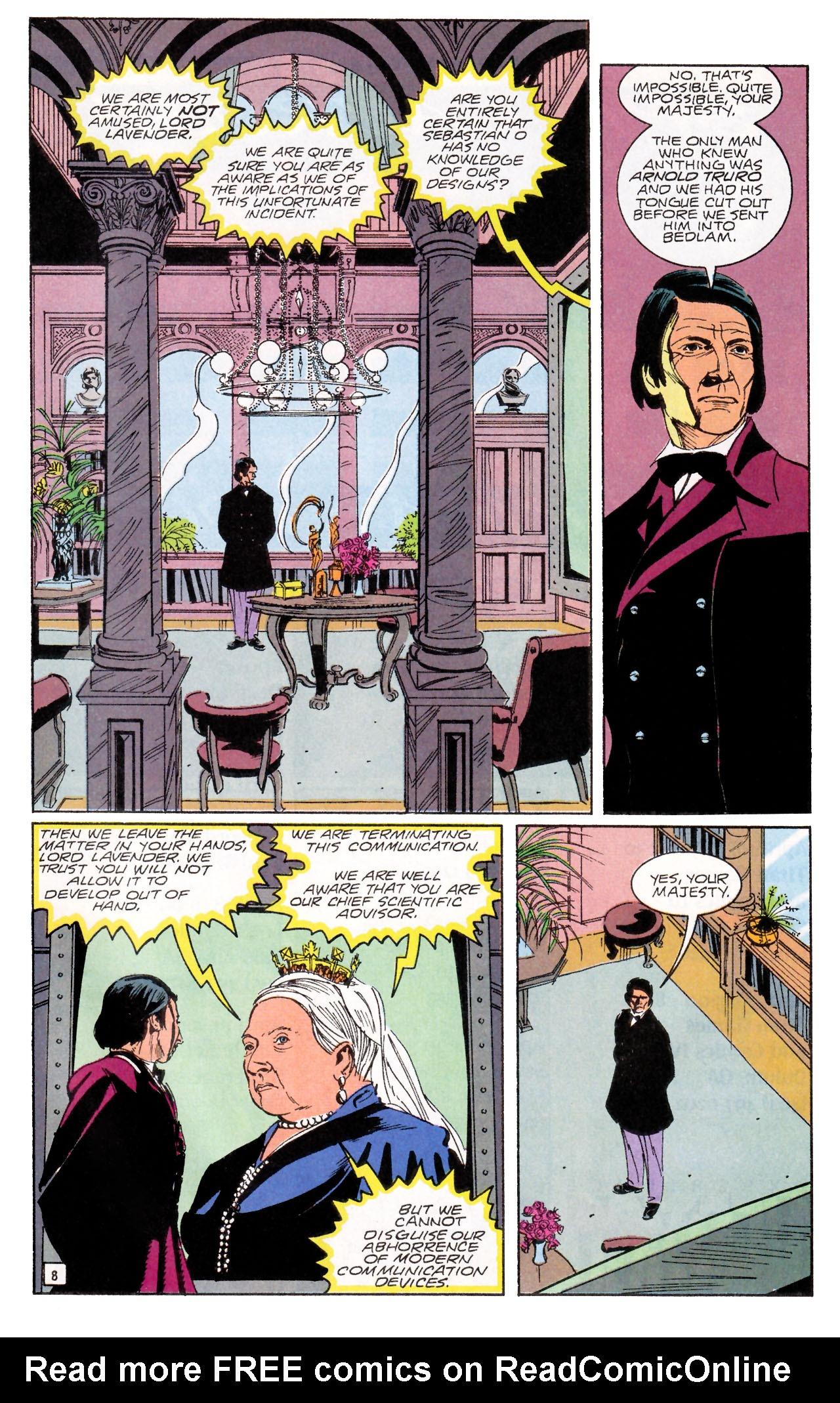Read online Sebastian O comic -  Issue #1 - 11